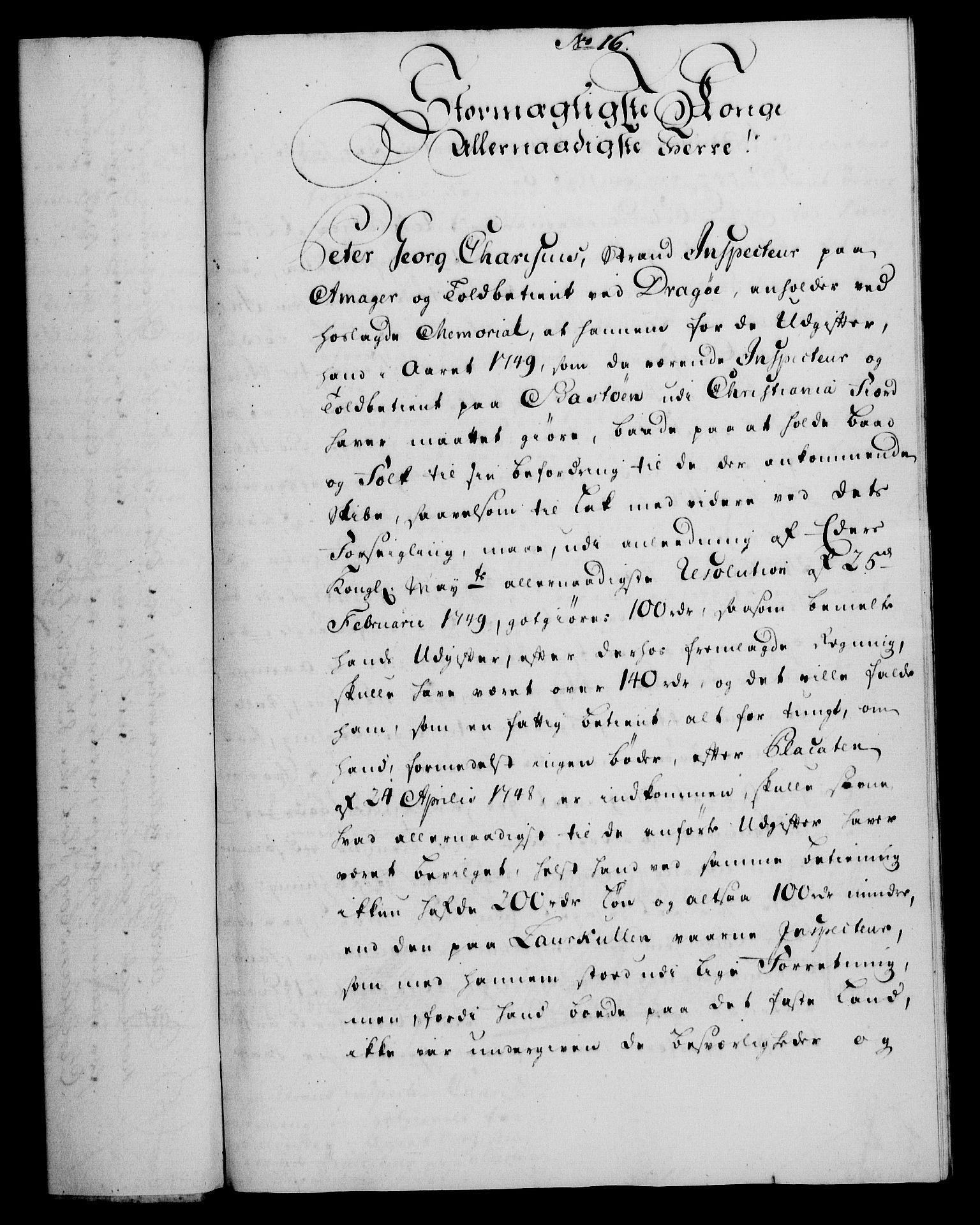 RA, Rentekammeret, Kammerkanselliet, G/Gf/Gfa/L0034: Norsk relasjons- og resolusjonsprotokoll (merket RK 52.34), 1752, s. 97