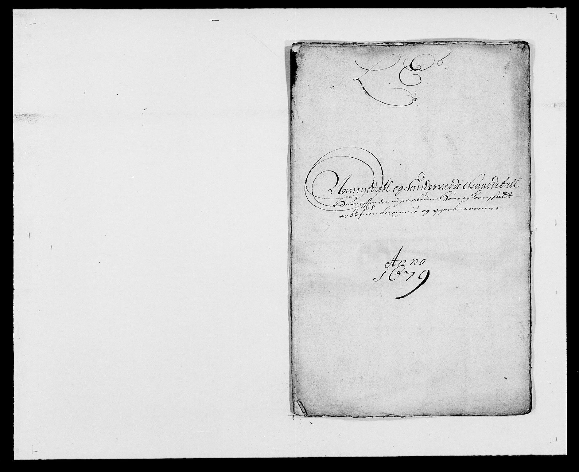RA, Rentekammeret inntil 1814, Reviderte regnskaper, Fogderegnskap, R24/L1569: Fogderegnskap Numedal og Sandsvær, 1679-1686, s. 129