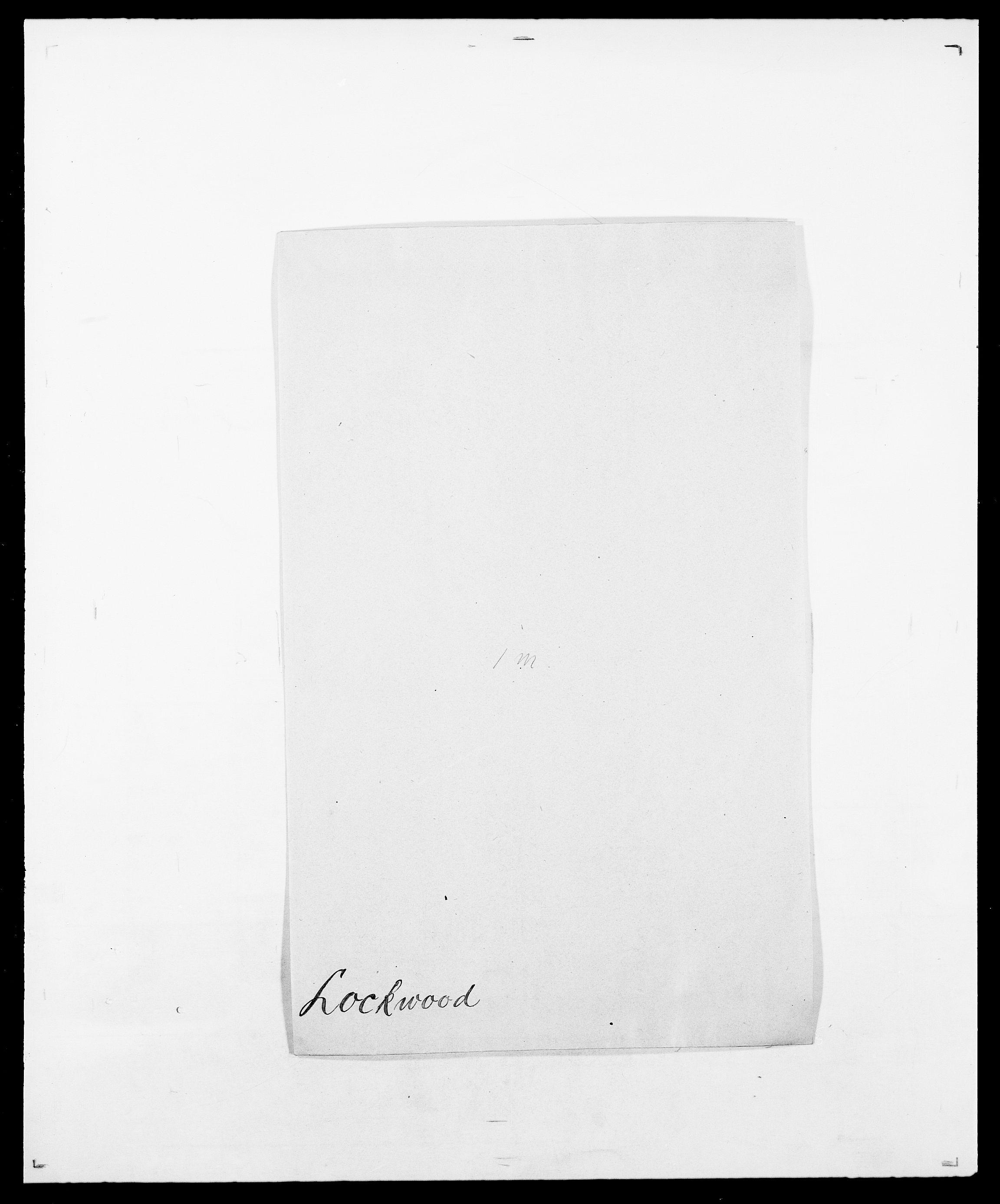 SAO, Delgobe, Charles Antoine - samling, D/Da/L0024: Lobech - Lærum, s. 26