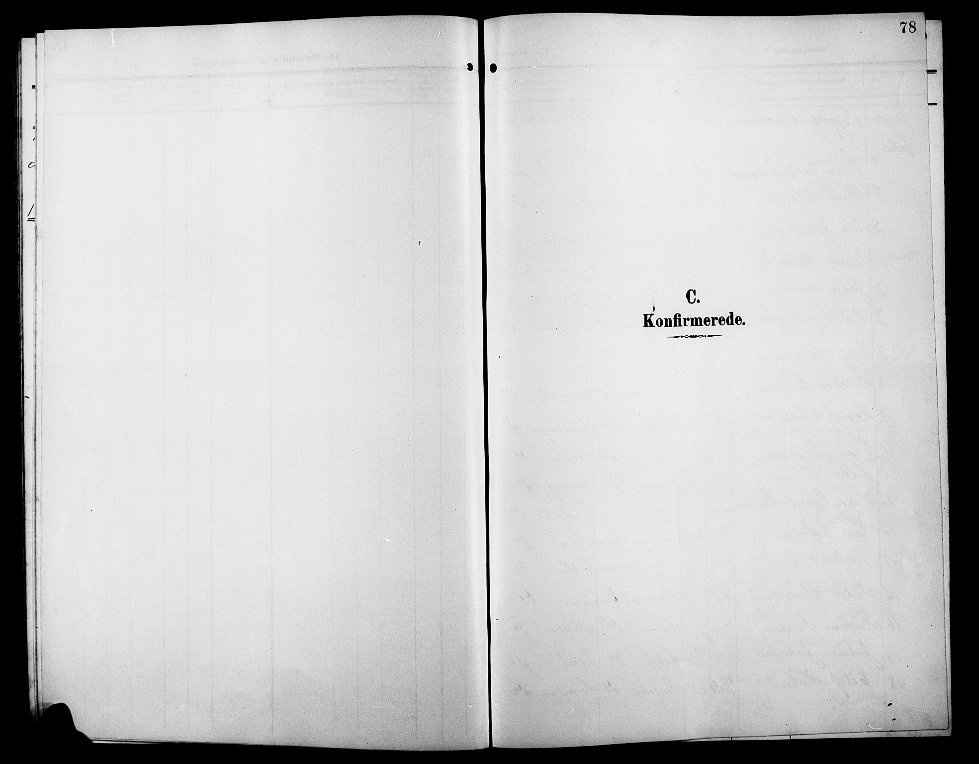 SAH, Østre Gausdal prestekontor, Klokkerbok nr. 4, 1905-1923, s. 78