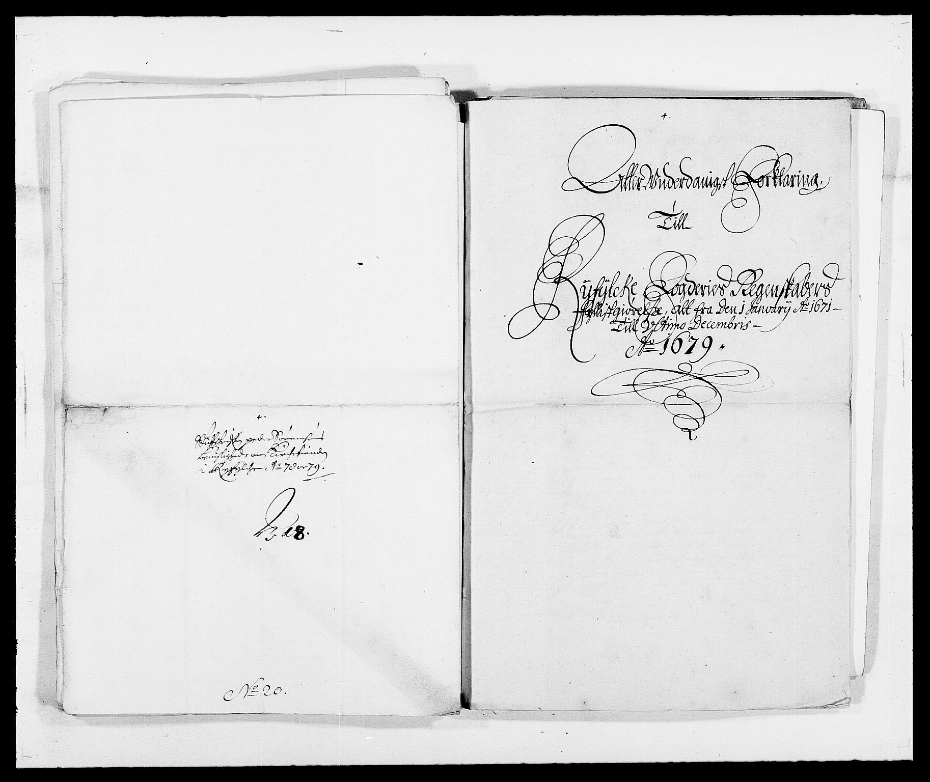 RA, Rentekammeret inntil 1814, Reviderte regnskaper, Fogderegnskap, R47/L2849: Fogderegnskap Ryfylke, 1679, s. 356
