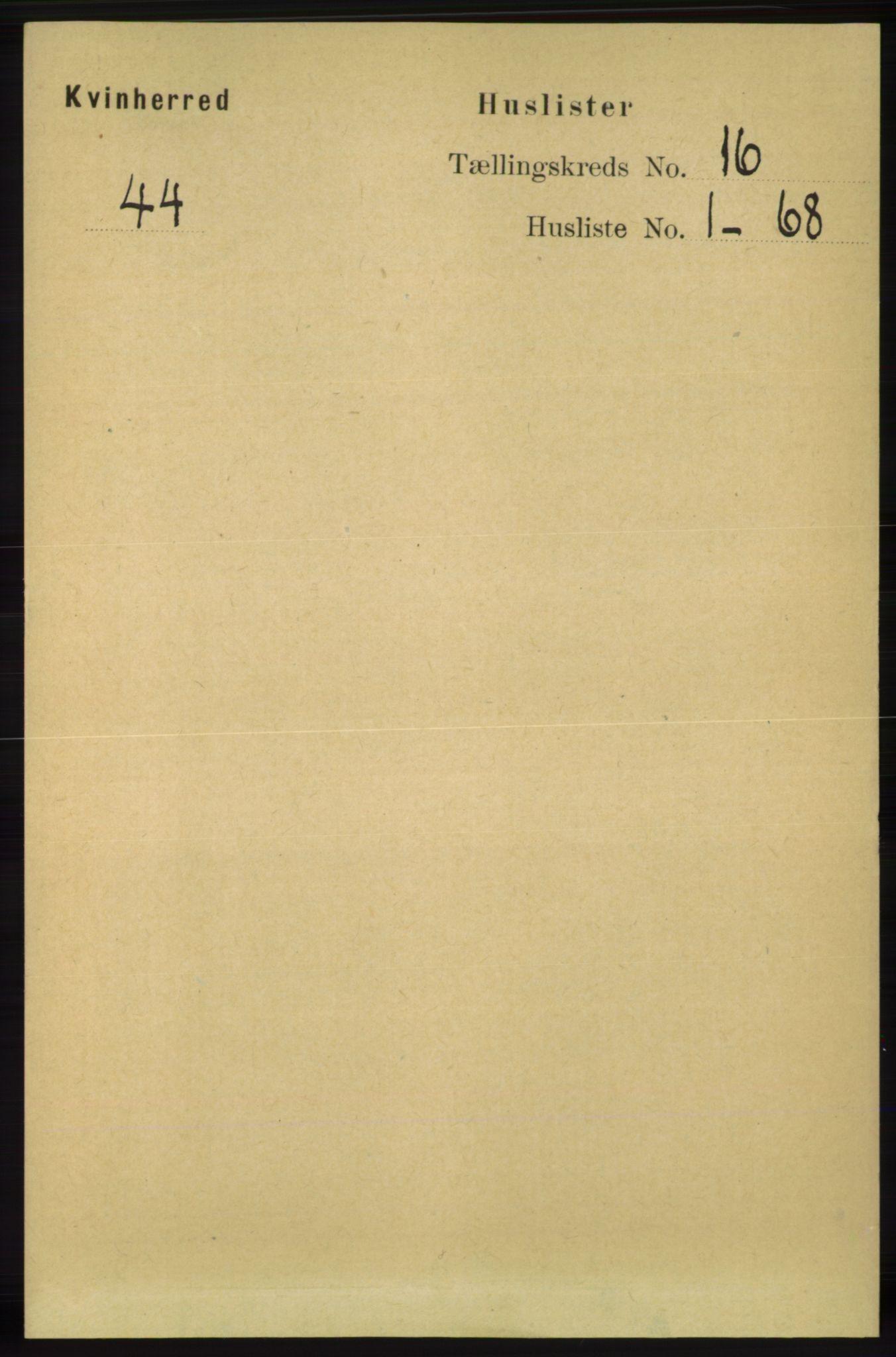 RA, Folketelling 1891 for 1224 Kvinnherad herred, 1891, s. 5373