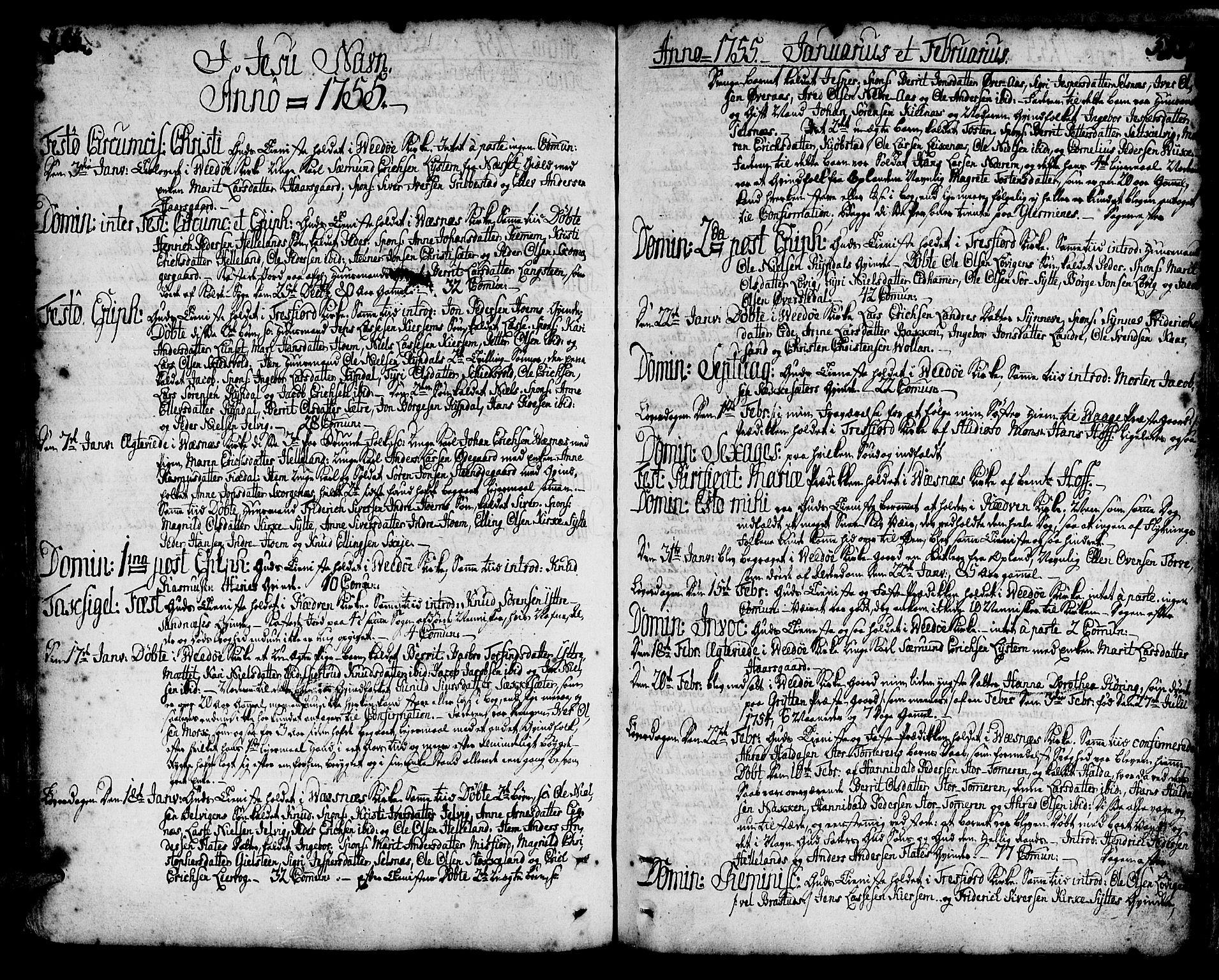 SAT, Ministerialprotokoller, klokkerbøker og fødselsregistre - Møre og Romsdal, 547/L0599: Ministerialbok nr. 547A01, 1721-1764, s. 393-394
