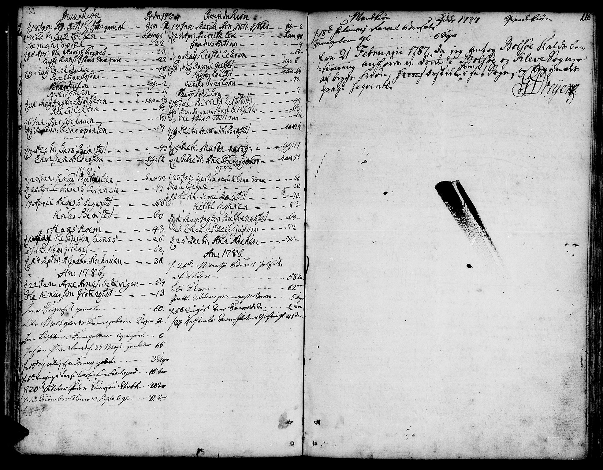 SAT, Ministerialprotokoller, klokkerbøker og fødselsregistre - Møre og Romsdal, 555/L0648: Ministerialbok nr. 555A01, 1759-1793, s. 116
