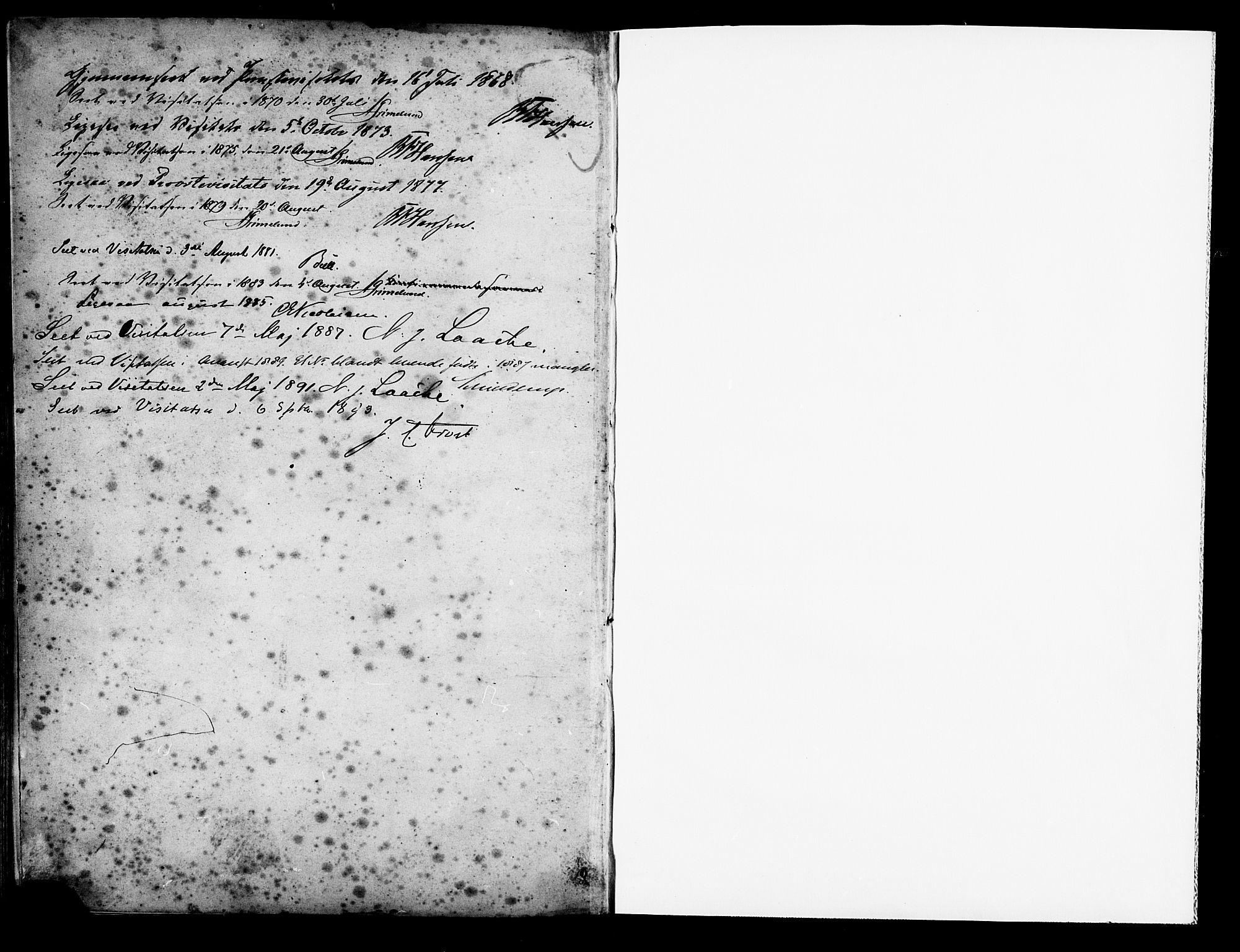 SAT, Ministerialprotokoller, klokkerbøker og fødselsregistre - Sør-Trøndelag, 653/L0657: Klokkerbok nr. 653C01, 1866-1893