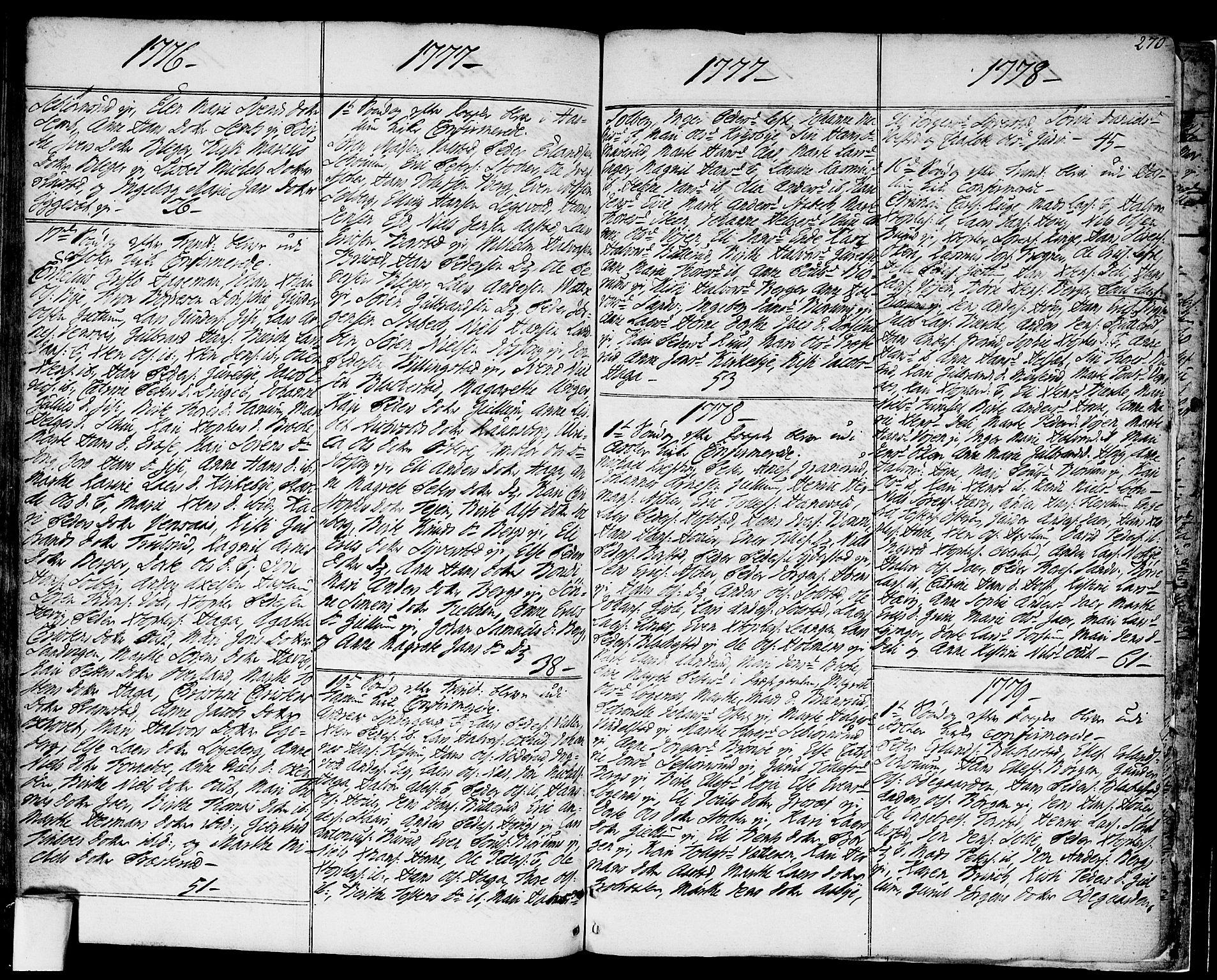 SAO, Asker prestekontor Kirkebøker, F/Fa/L0003: Ministerialbok nr. I 3, 1767-1807, s. 270