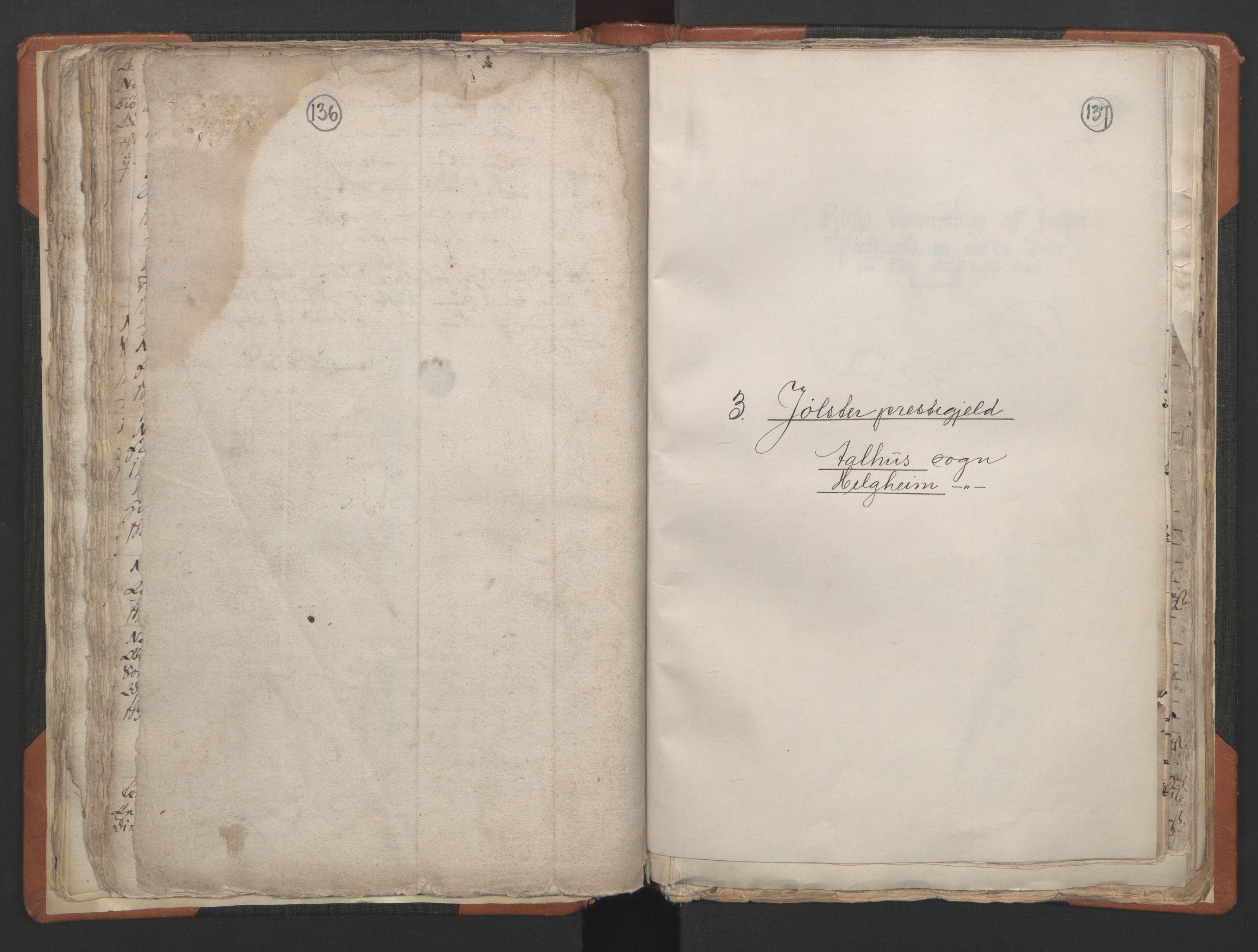 RA, Sogneprestenes manntall 1664-1666, nr. 24: Sunnfjord prosti, 1664-1666, s. 136-137