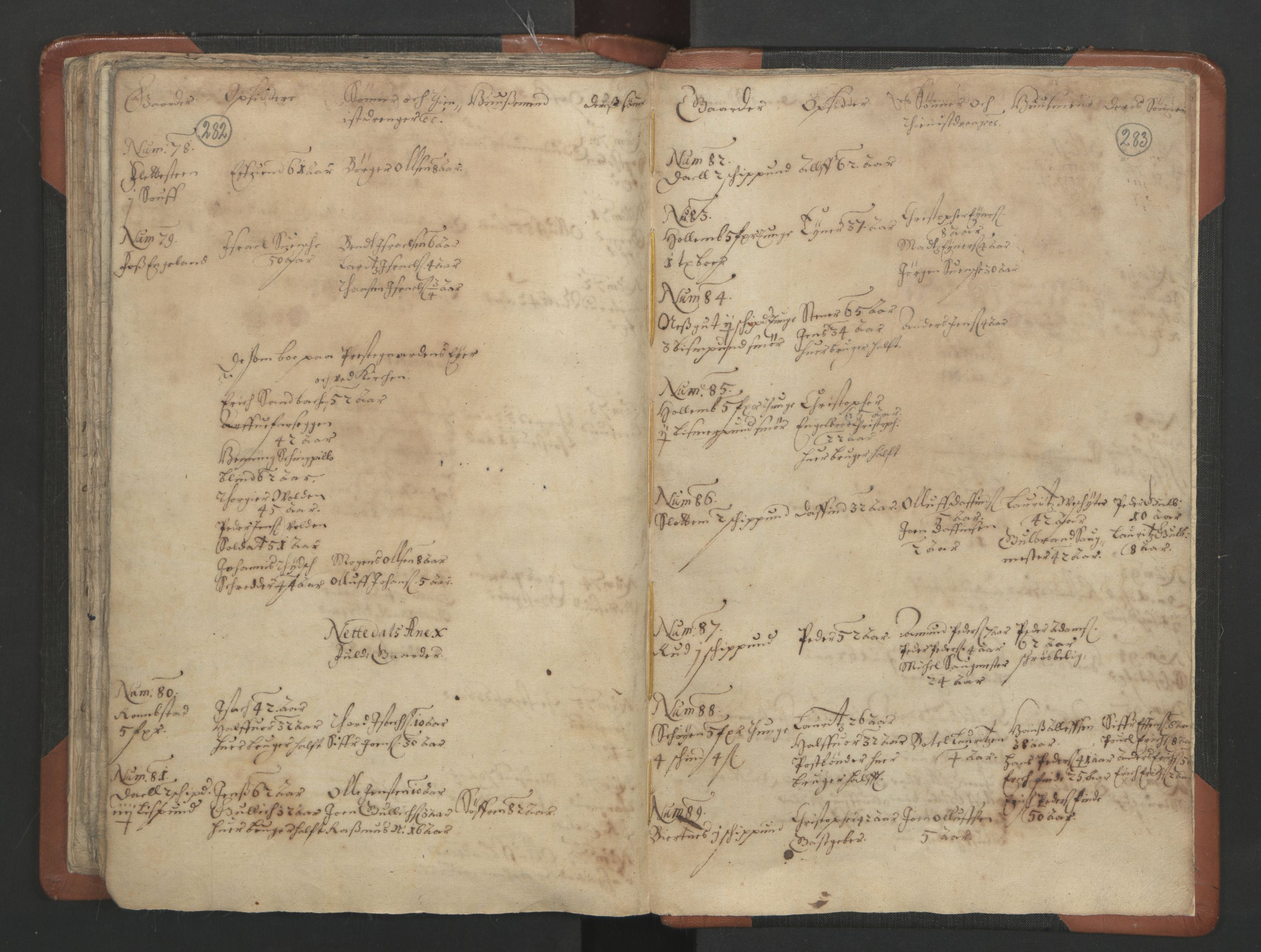 RA, Sogneprestenes manntall 1664-1666, nr. 3: Nedre Romerike prosti, 1664-1666, s. 282-283