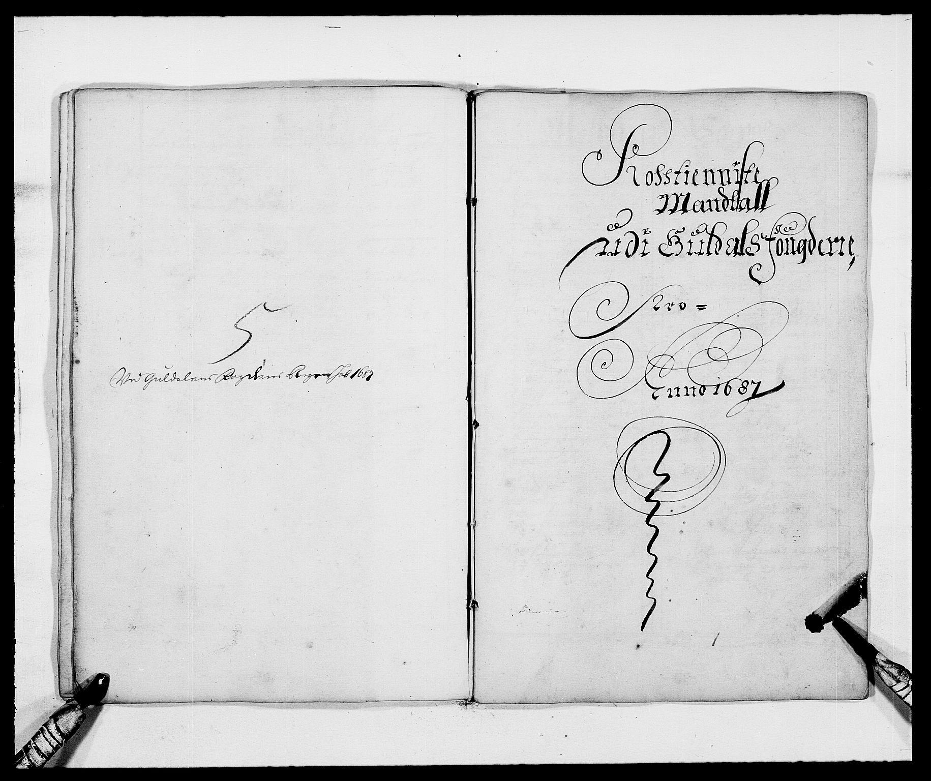 RA, Rentekammeret inntil 1814, Reviderte regnskaper, Fogderegnskap, R59/L3939: Fogderegnskap Gauldal, 1687-1688, s. 23