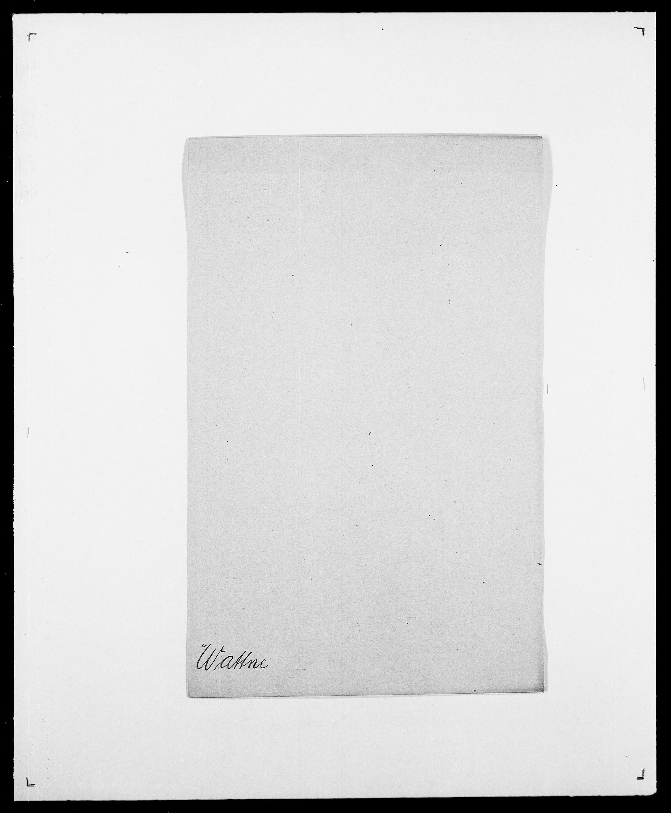 SAO, Delgobe, Charles Antoine - samling, D/Da/L0040: Usgaard - Velund, s. 383