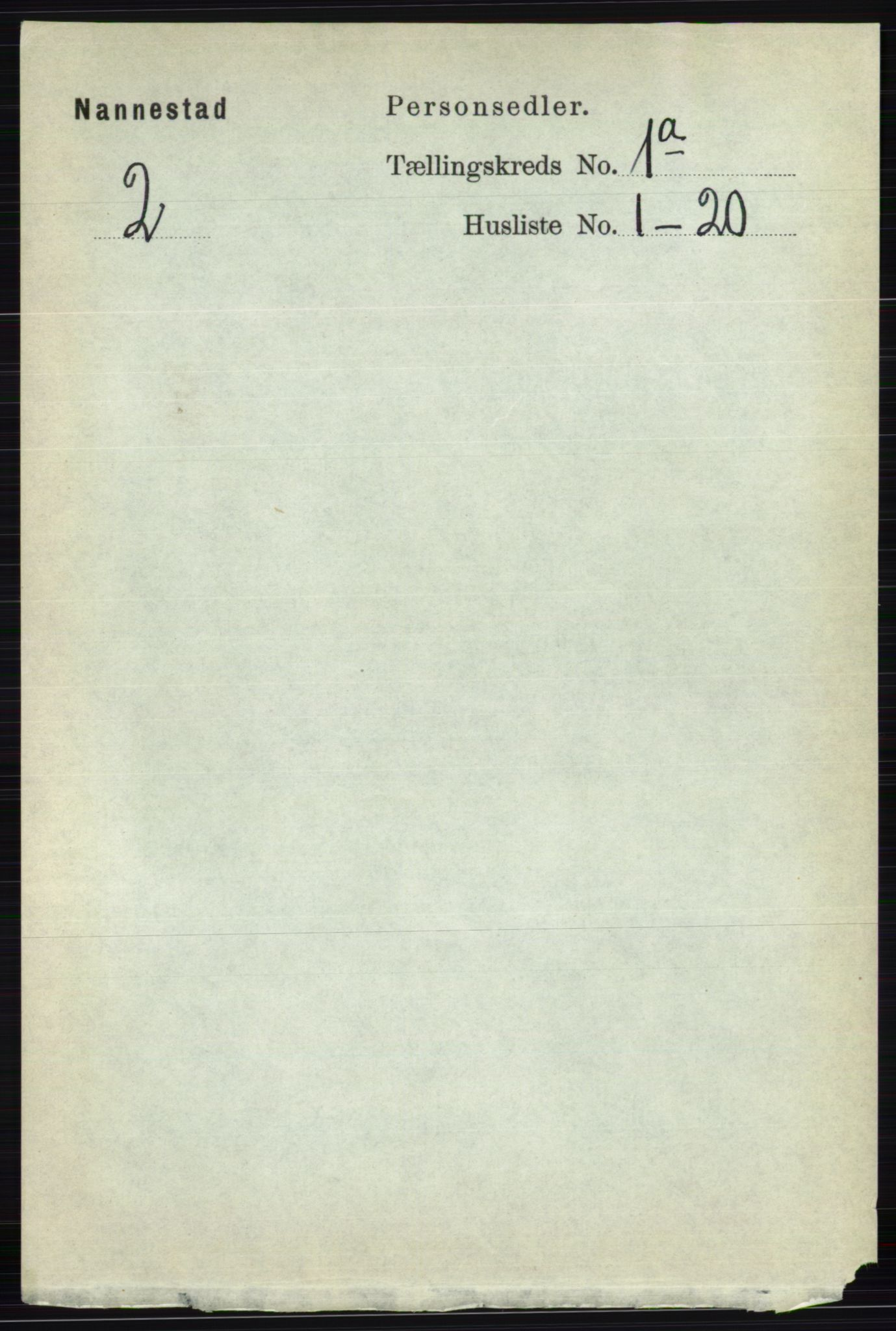 RA, Folketelling 1891 for 0238 Nannestad herred, 1891, s. 120