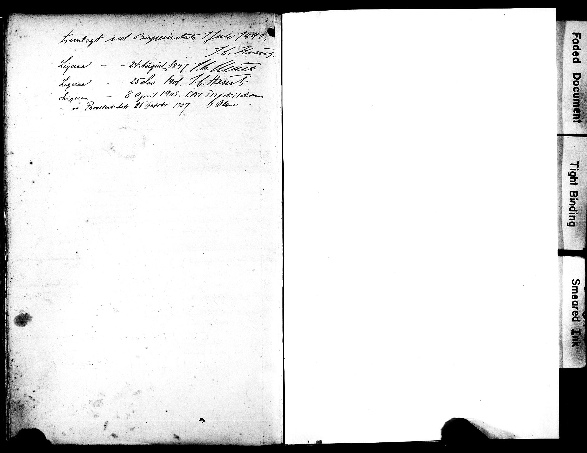 SAST, Egersund sokneprestkontor, Ministerialbok nr. A 18, 1892-1905