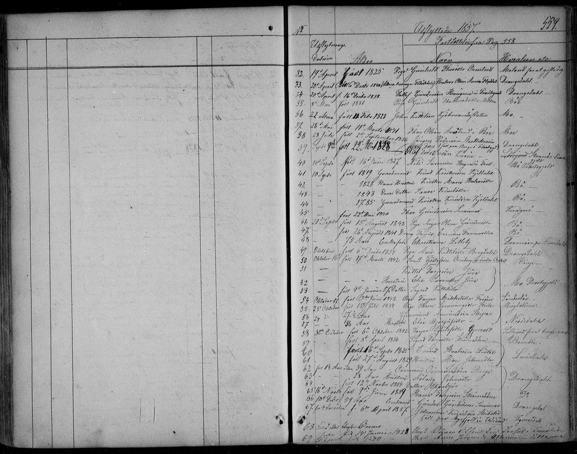 SAKO, Kviteseid kirkebøker, F/Fa/L0006: Ministerialbok nr. I 6, 1836-1858, s. 559