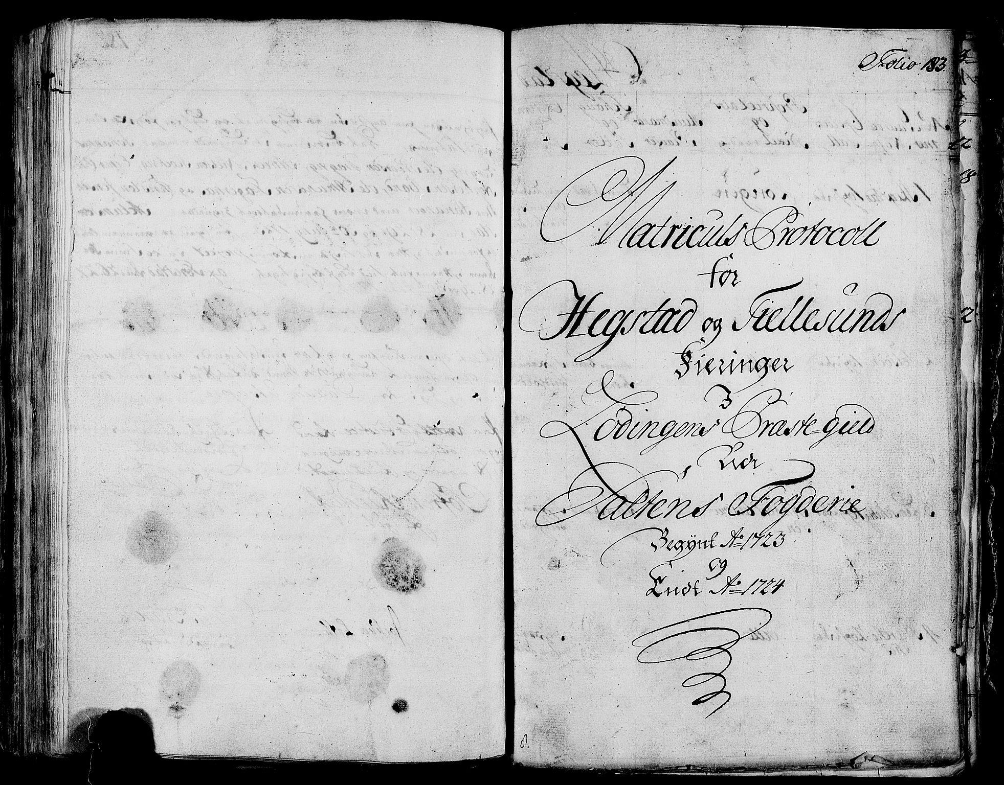 RA, Rentekammeret inntil 1814, Realistisk ordnet avdeling, N/Nb/Nbf/L0172: Salten eksaminasjonsprotokoll, 1723, s. 182b-183a