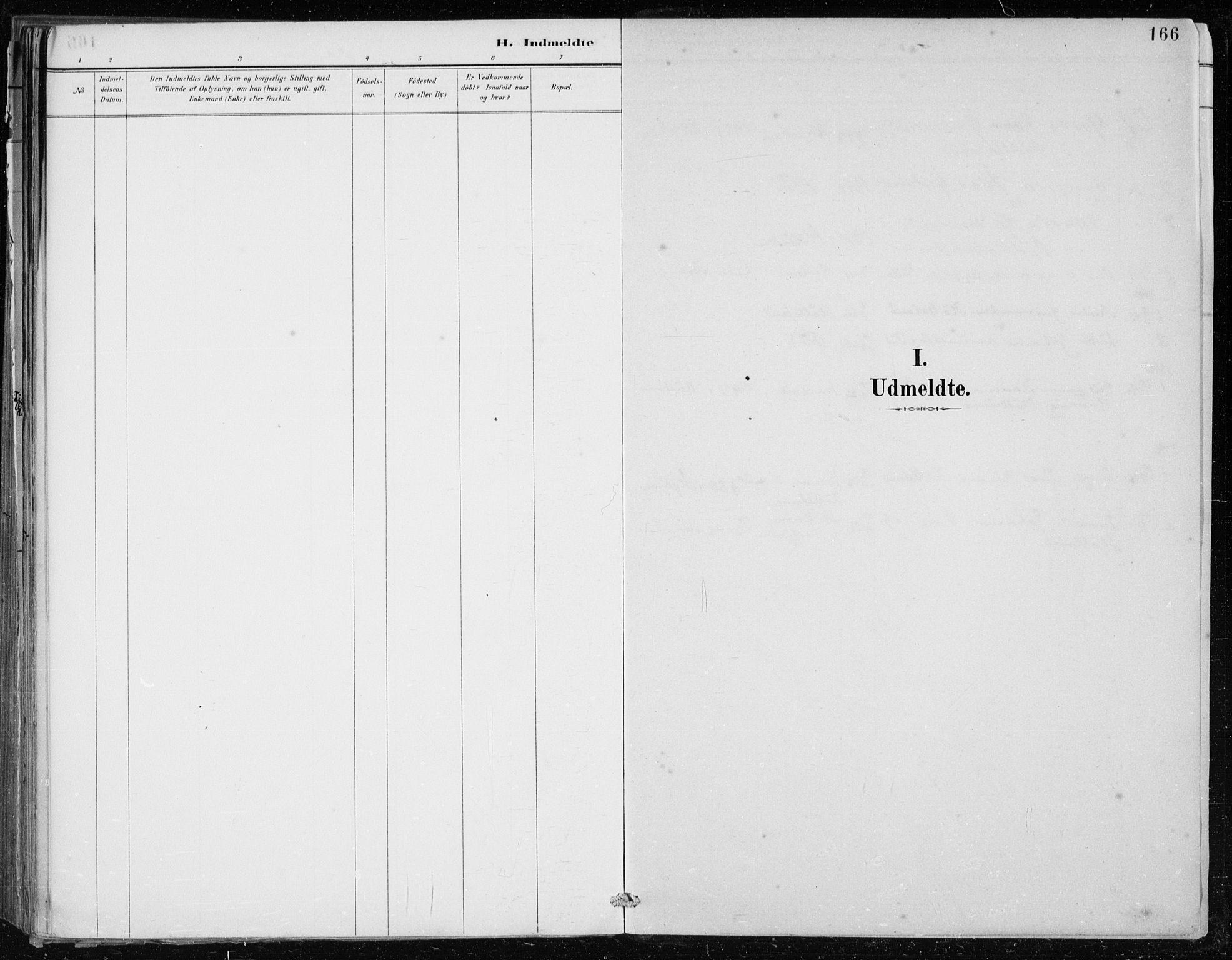 SAB, Lindås Sokneprestembete, H/Haa: Ministerialbok nr. F  1, 1886-1897, s. 166