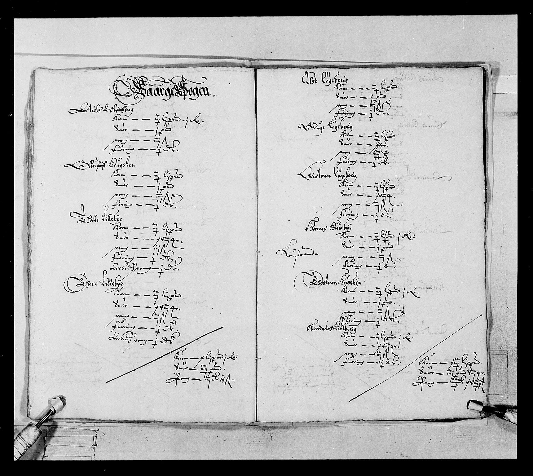 RA, Stattholderembetet 1572-1771, Ek/L0022: Jordebøker 1633-1658:, 1646-1647, s. 21