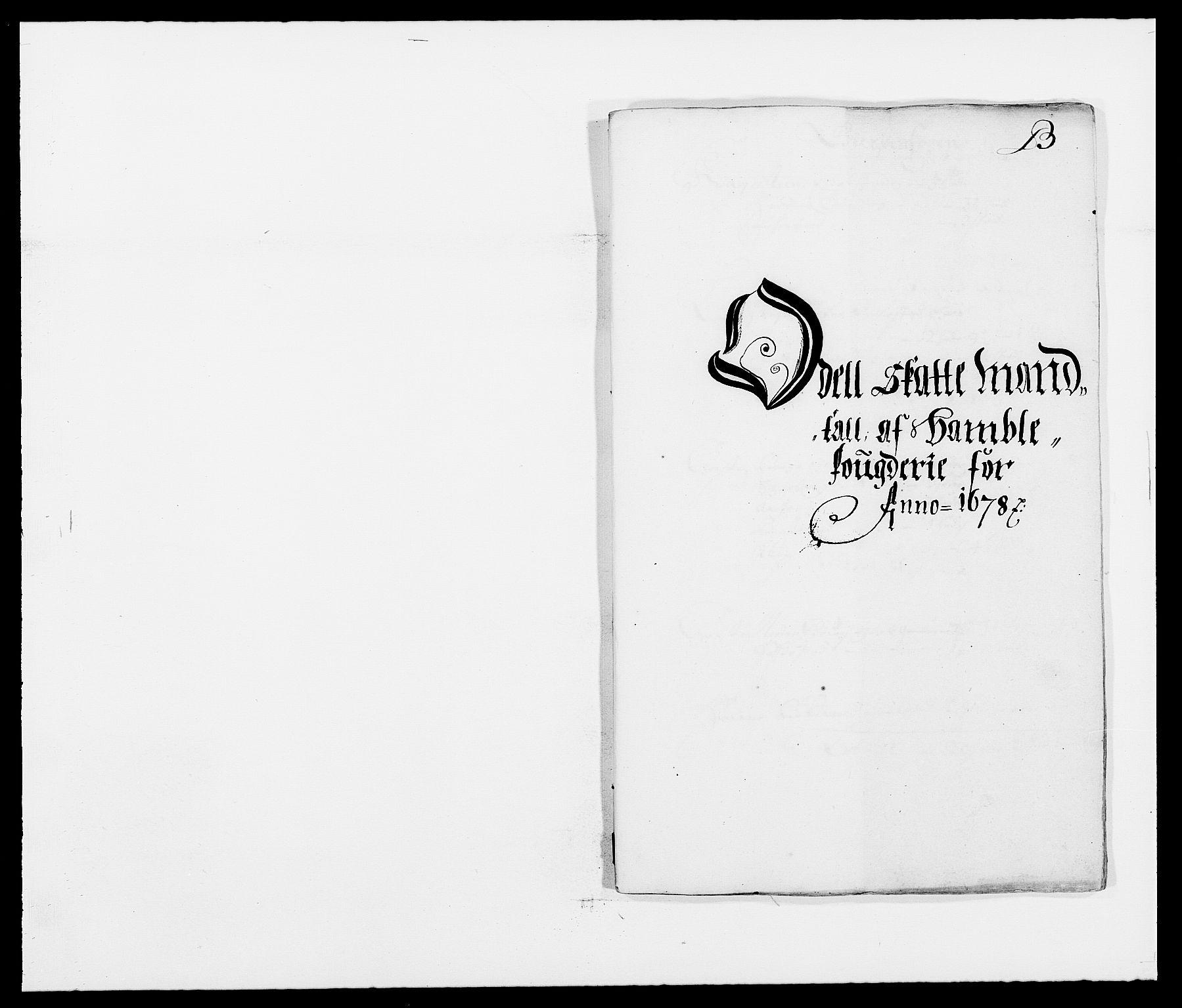 RA, Rentekammeret inntil 1814, Reviderte regnskaper, Fogderegnskap, R34/L2044: Fogderegnskap Bamble, 1678-1679, s. 50