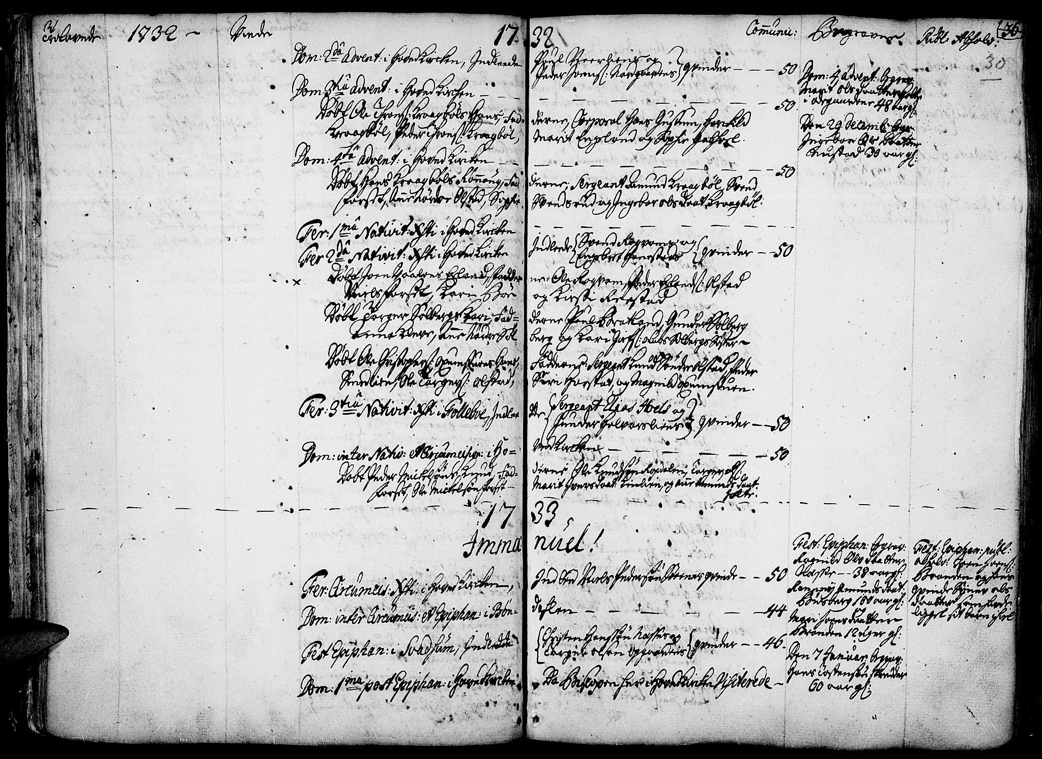 SAH, Gausdal prestekontor, Ministerialbok nr. 2, 1729-1757, s. 30
