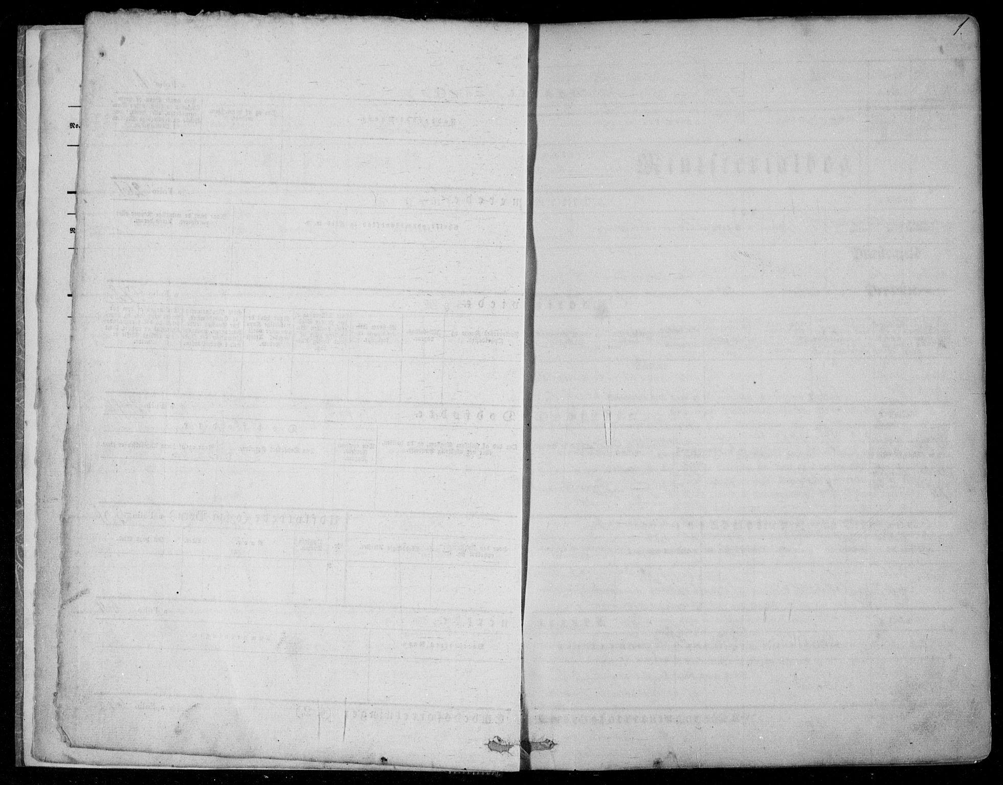SAKO, Kviteseid kirkebøker, F/Fa/L0006: Ministerialbok nr. I 6, 1836-1858, s. 1