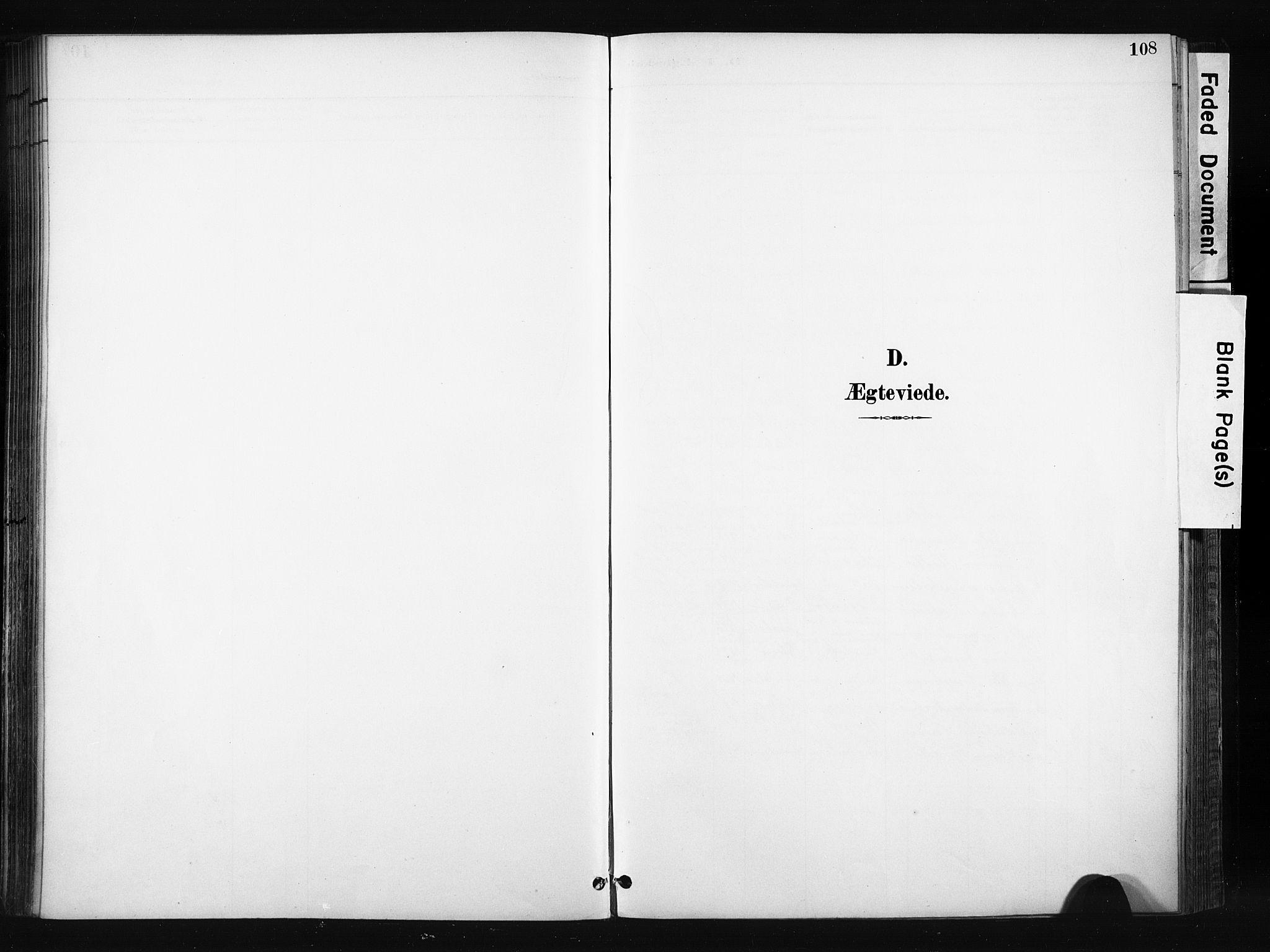 SAH, Søndre Land prestekontor, K/L0004: Ministerialbok nr. 4, 1895-1904, s. 108