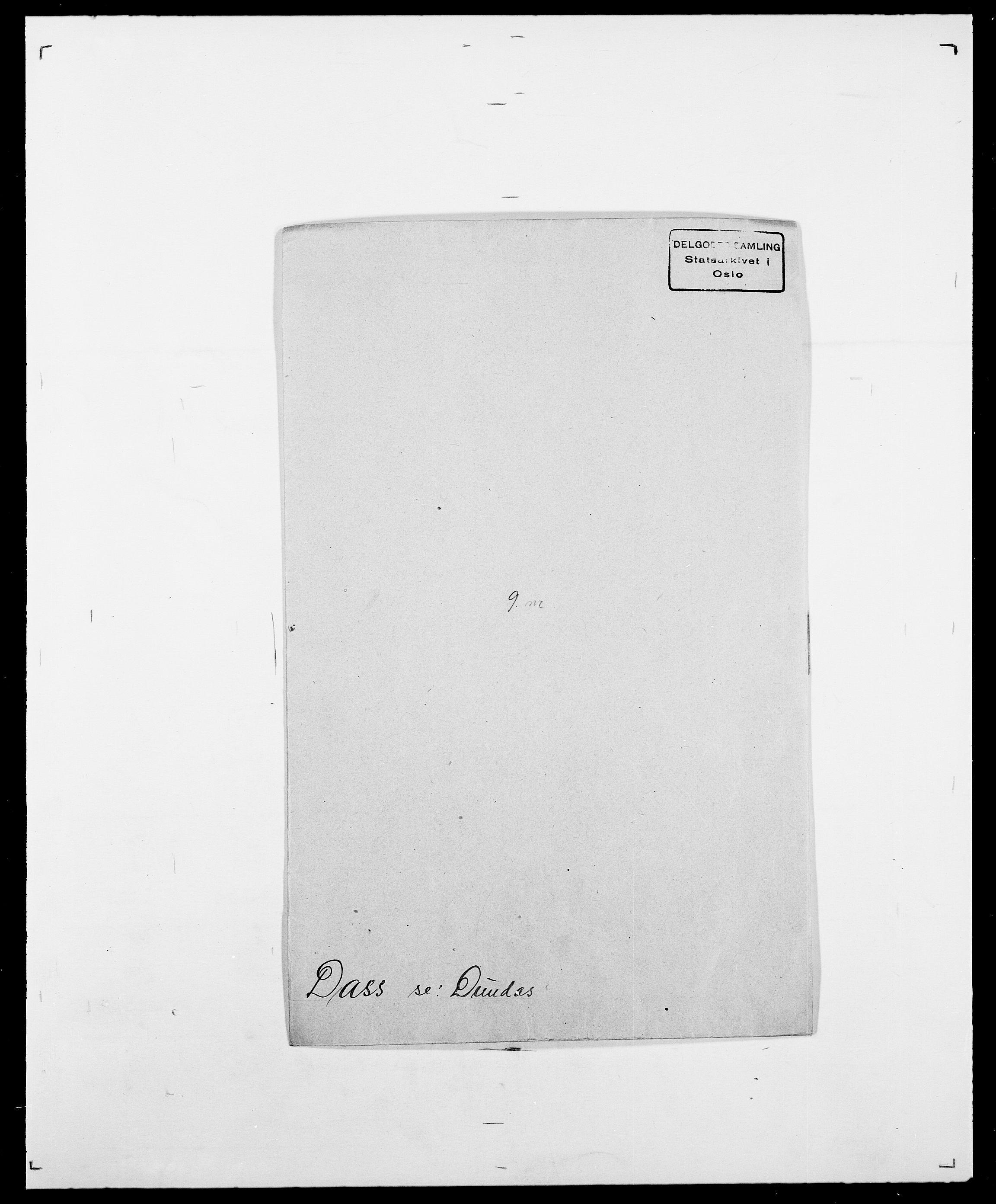 SAO, Delgobe, Charles Antoine - samling, D/Da/L0009: Dahl - v. Düren, s. 347