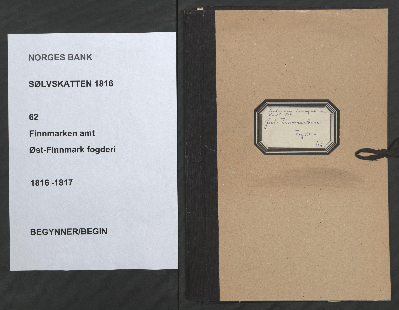 NOBA, Norges Bank/Sølvskatten 1816*, 1816-1817, s. 1