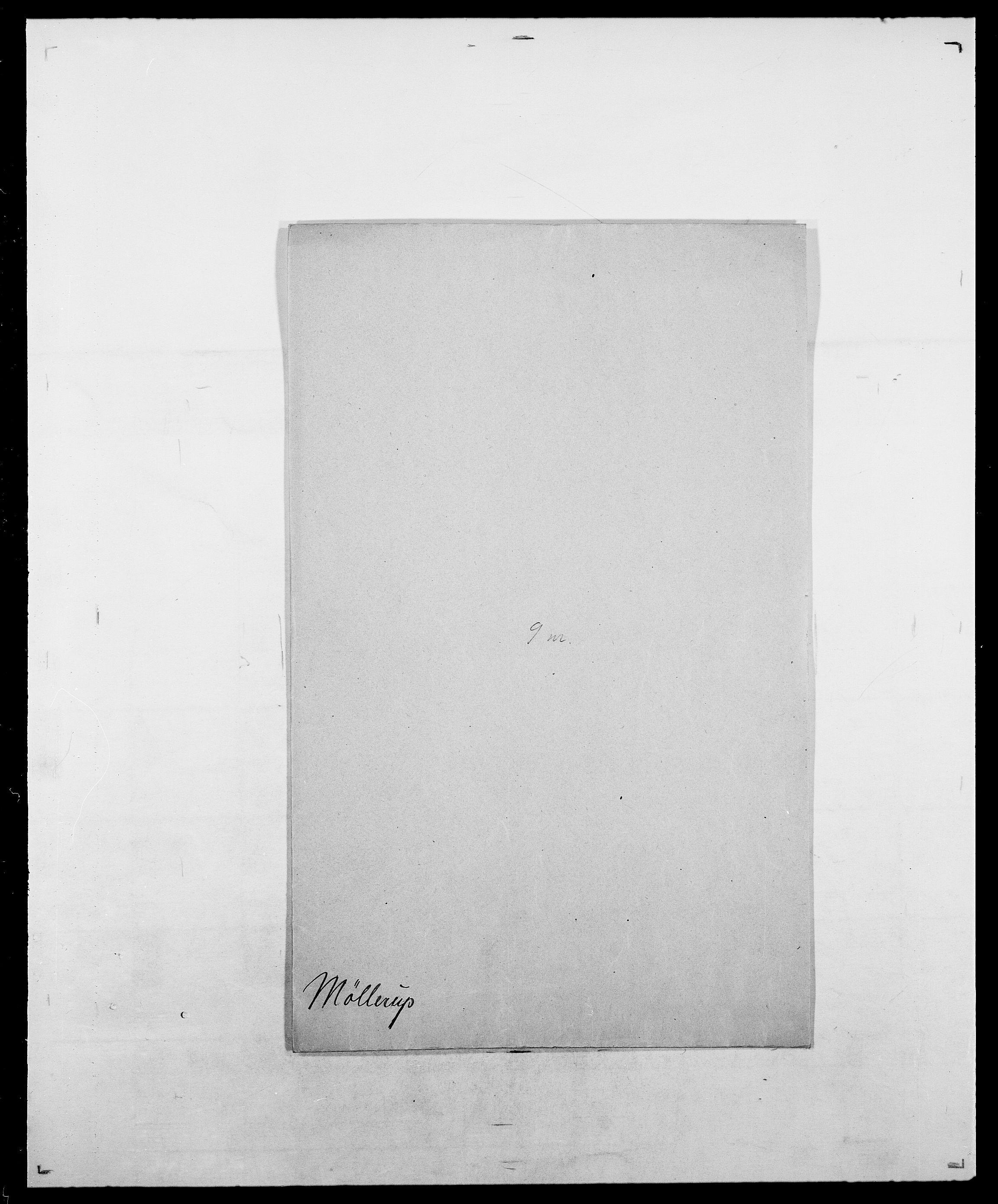 SAO, Delgobe, Charles Antoine - samling, D/Da/L0027: Morath - v. Møsting, s. 681