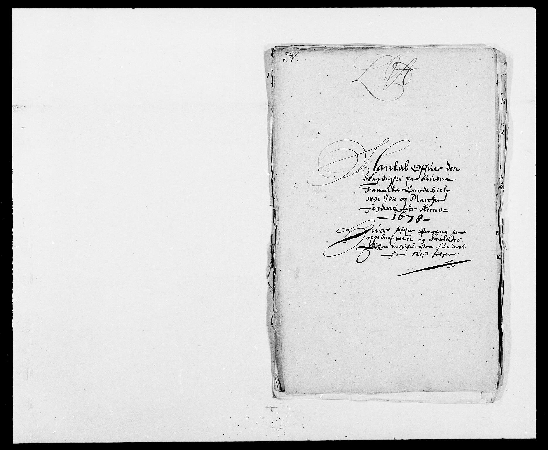 RA, Rentekammeret inntil 1814, Reviderte regnskaper, Fogderegnskap, R01/L0001: Fogderegnskap Idd og Marker, 1678-1679, s. 220