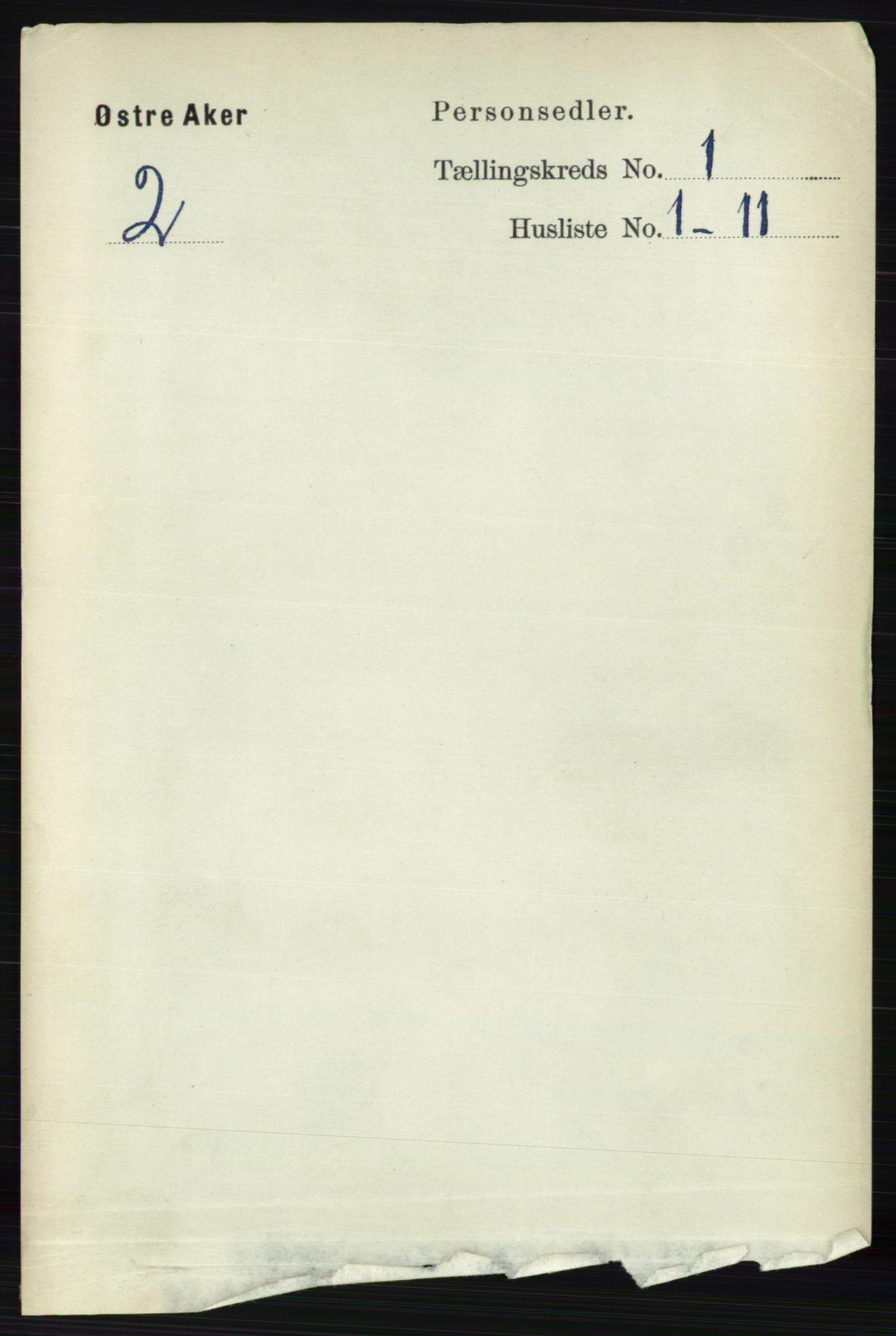 RA, Folketelling 1891 for 0218 Aker herred, 1891, s. 148