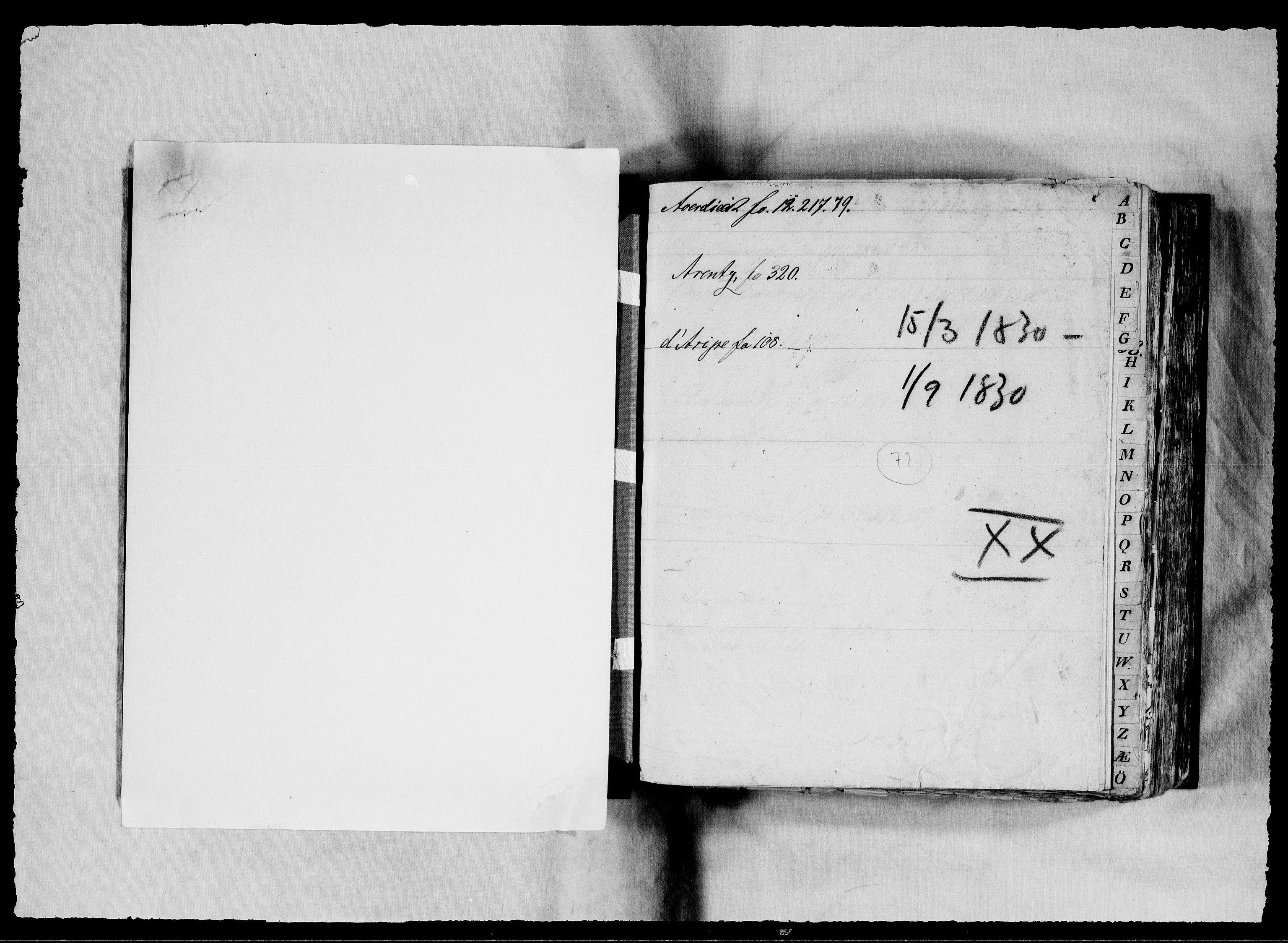RA, Modums Blaafarveværk, G/Gb/L0071, 1830, s. 2