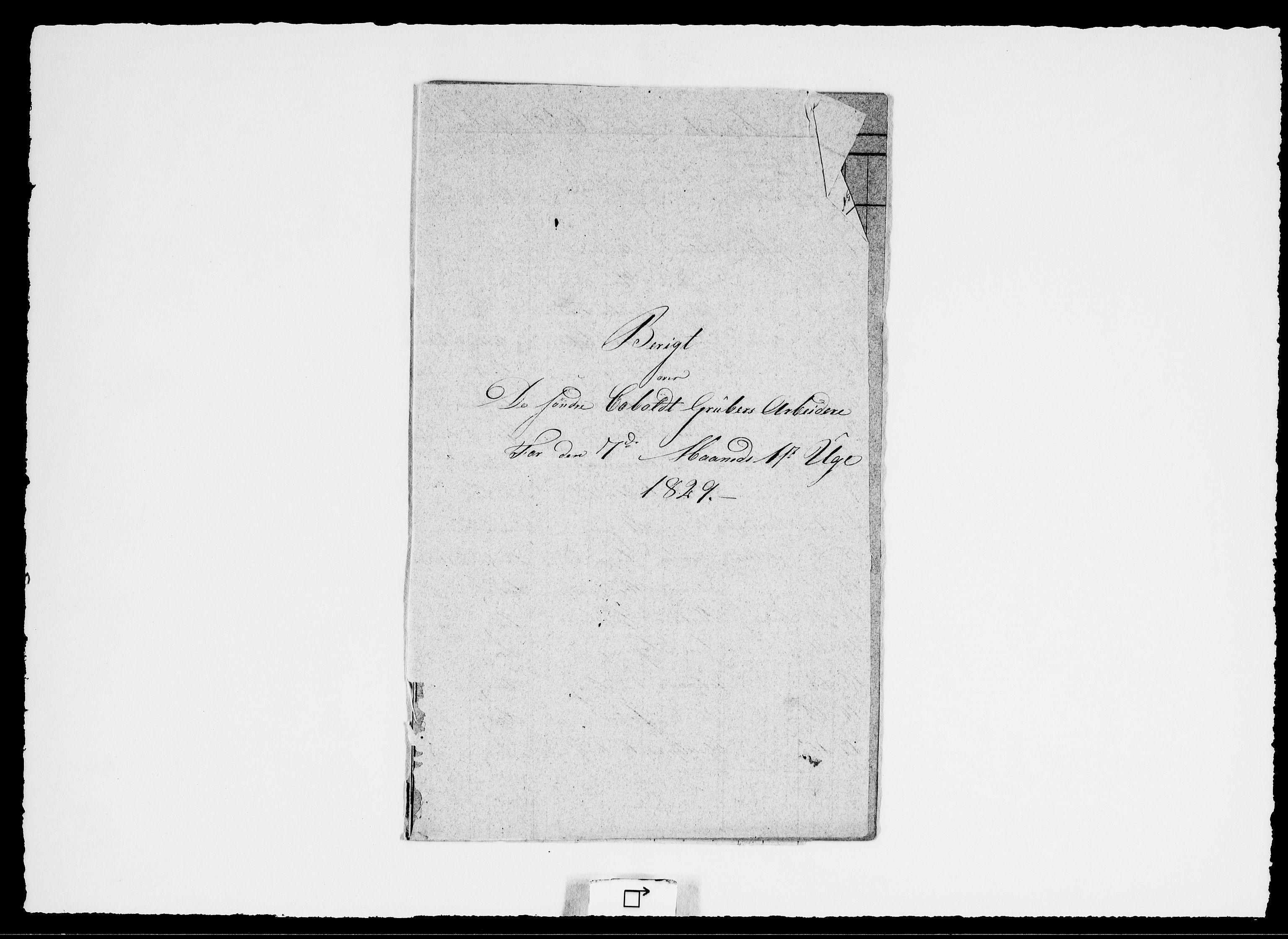 RA, Modums Blaafarveværk, G/Ge/L0333, 1829, s. 2