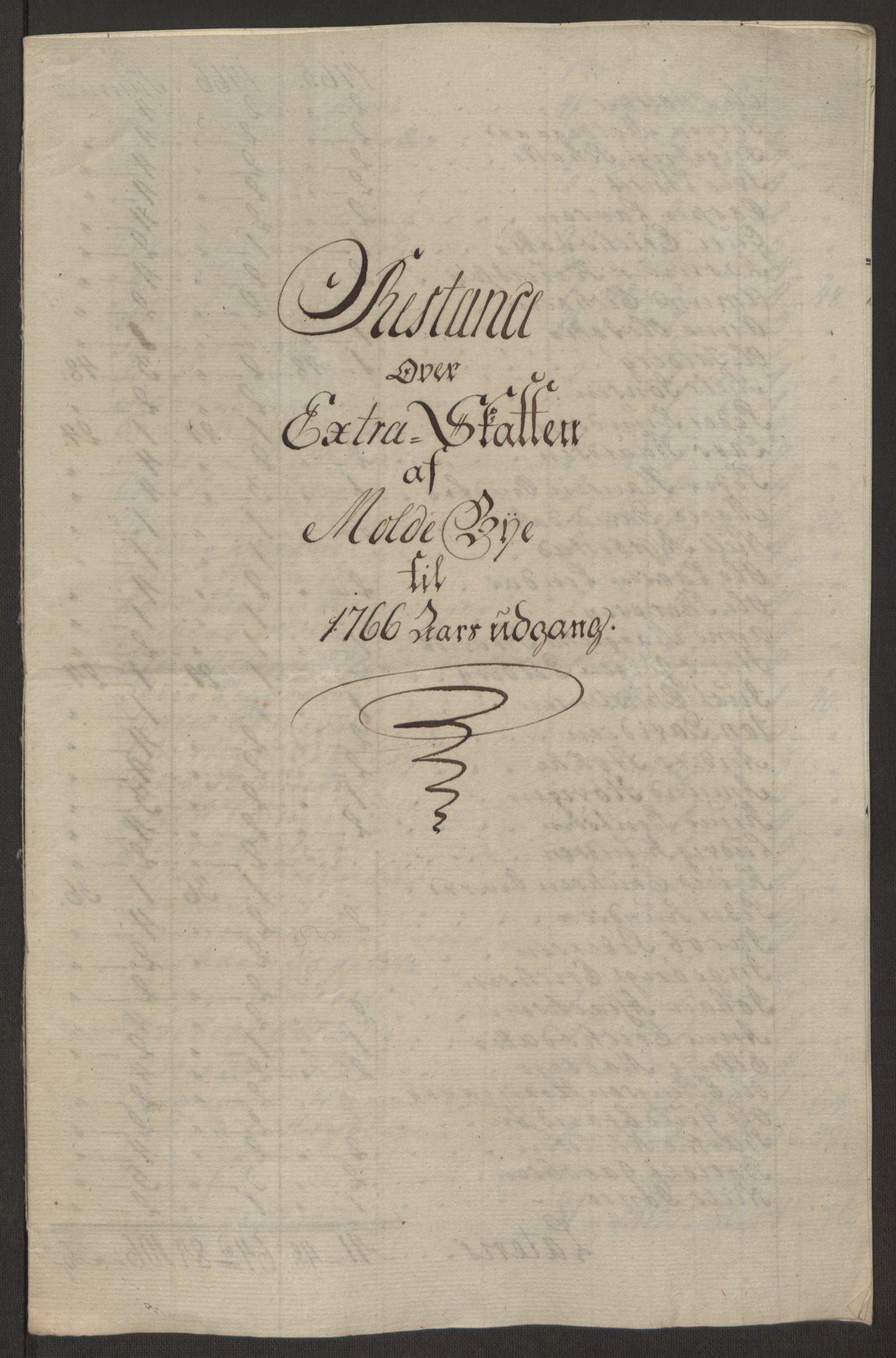 RA, Rentekammeret inntil 1814, Reviderte regnskaper, Byregnskaper, R/Rq/L0487: [Q1] Kontribusjonsregnskap, 1762-1772, s. 135