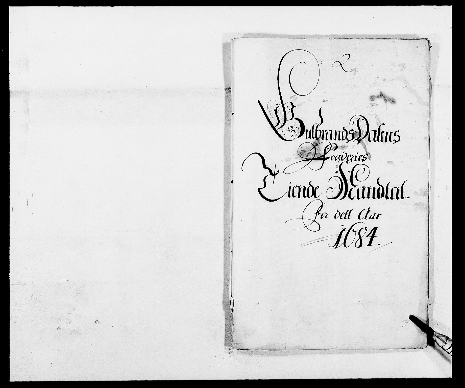 RA, Rentekammeret inntil 1814, Reviderte regnskaper, Fogderegnskap, R17/L1159: Fogderegnskap Gudbrandsdal, 1682-1689, s. 262