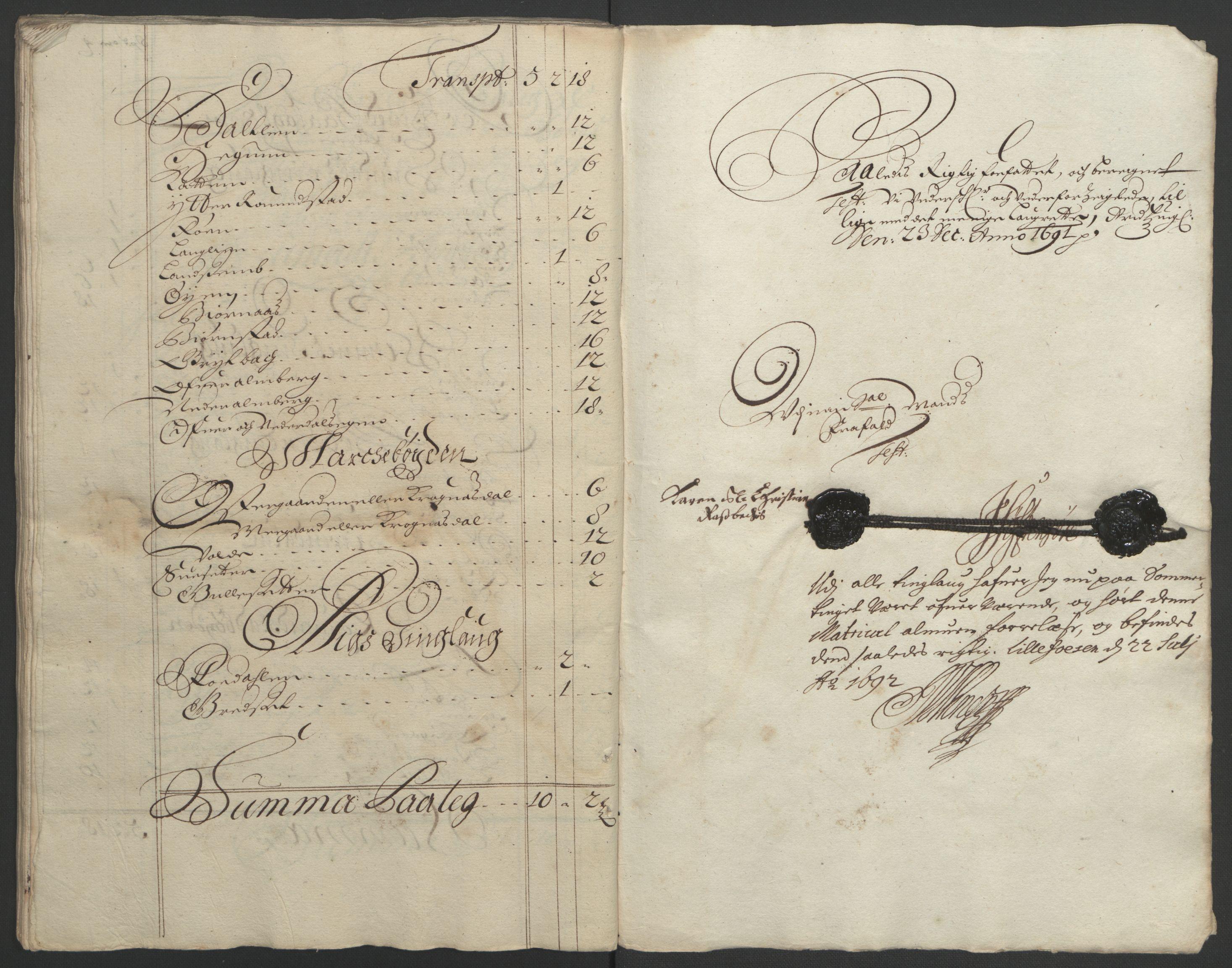 RA, Rentekammeret inntil 1814, Reviderte regnskaper, Fogderegnskap, R56/L3734: Fogderegnskap Nordmøre, 1690-1691, s. 283