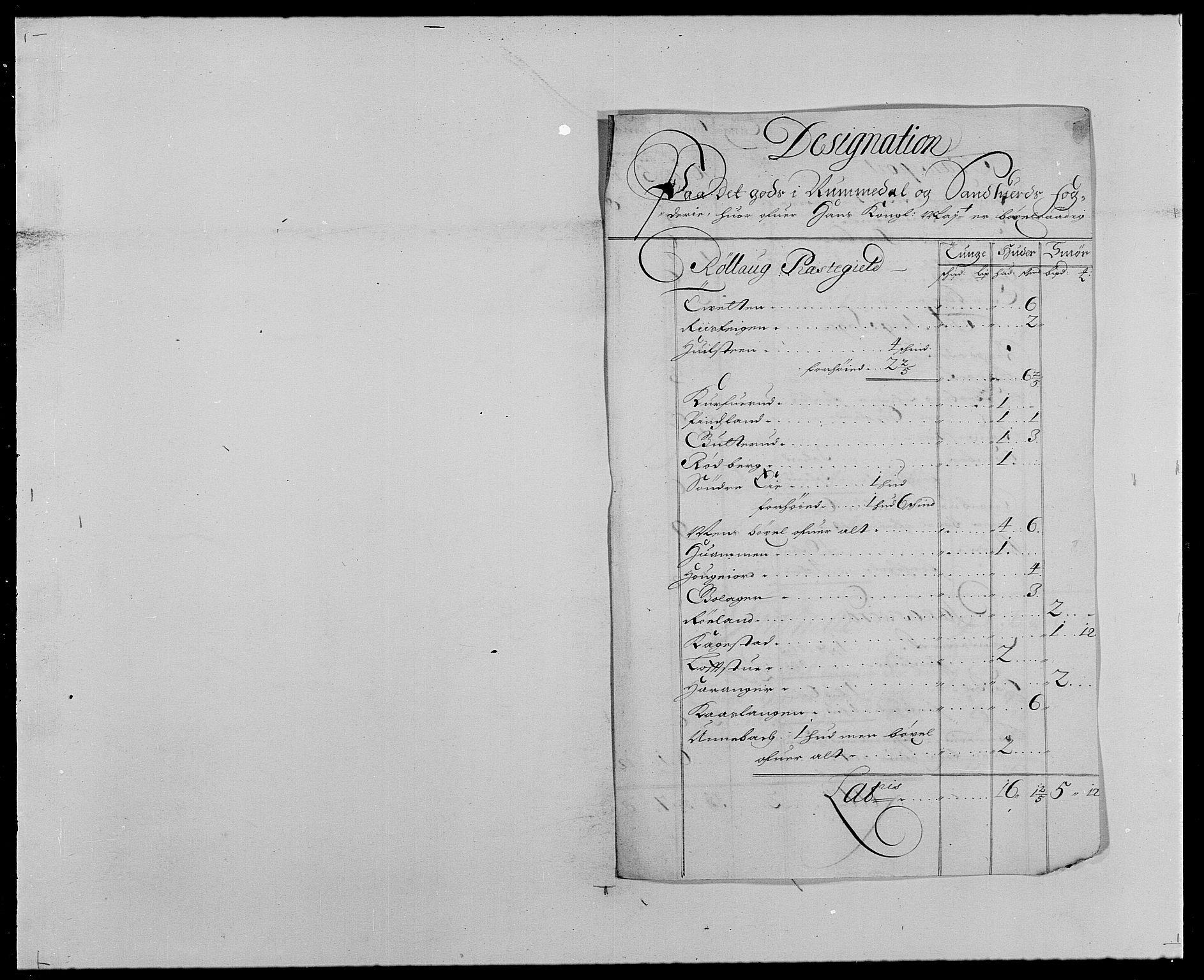 RA, Rentekammeret inntil 1814, Reviderte regnskaper, Fogderegnskap, R24/L1573: Fogderegnskap Numedal og Sandsvær, 1687-1691, s. 26