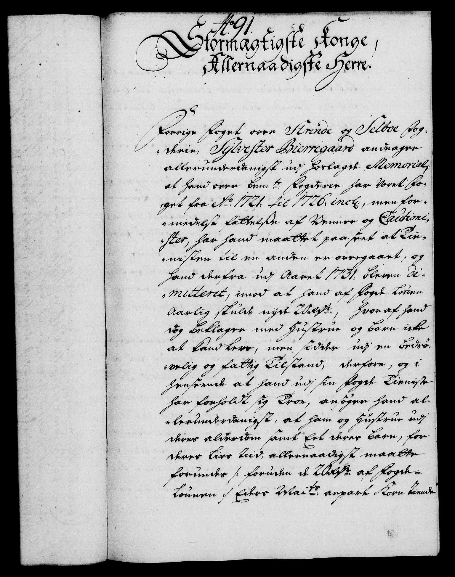 RA, Rentekammeret, Kammerkanselliet, G/Gf/Gfa/L0018: Norsk relasjons- og resolusjonsprotokoll (merket RK 52.18), 1735, s. 593