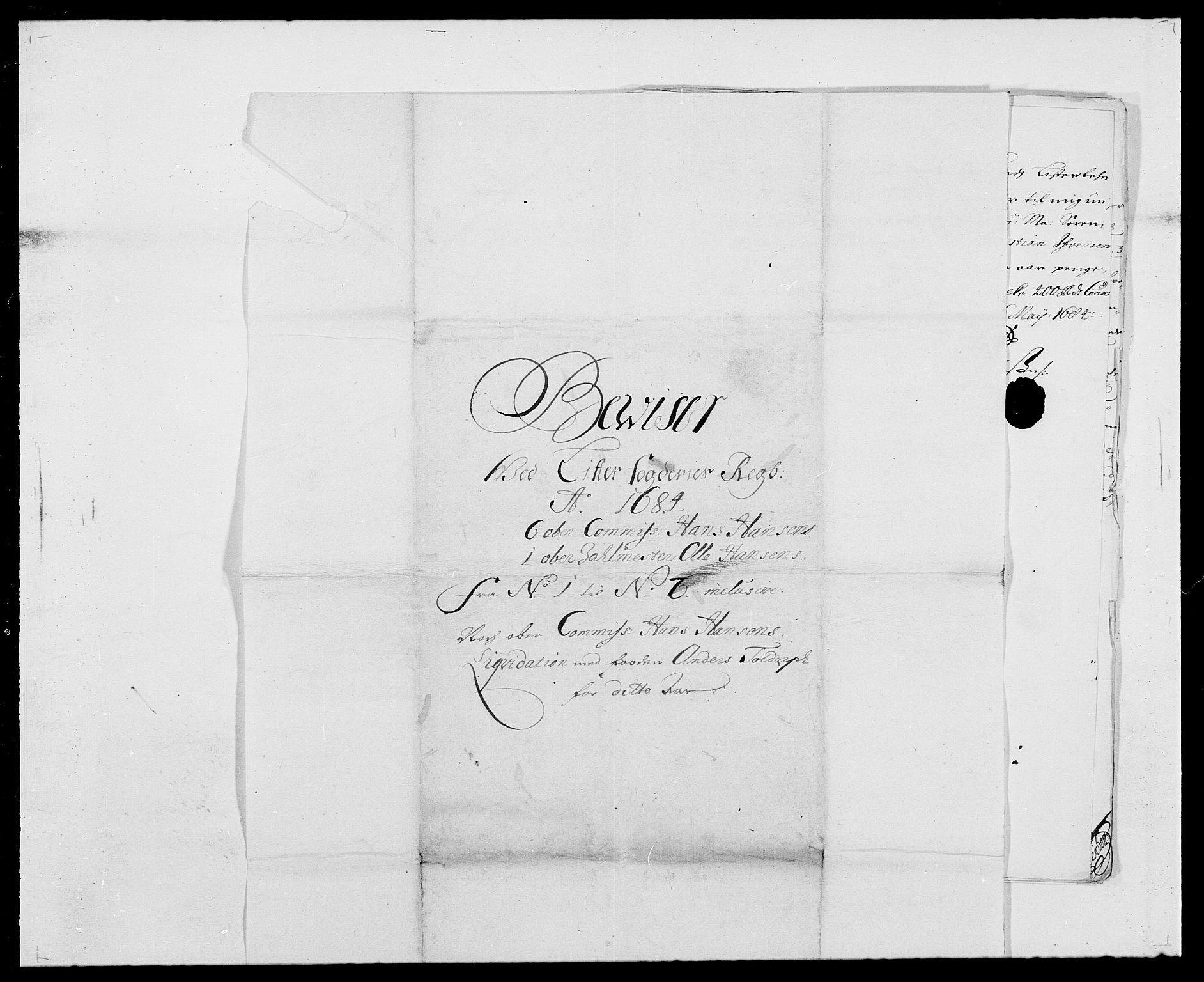 RA, Rentekammeret inntil 1814, Reviderte regnskaper, Fogderegnskap, R41/L2533: Fogderegnskap Lista, 1684-1685, s. 145