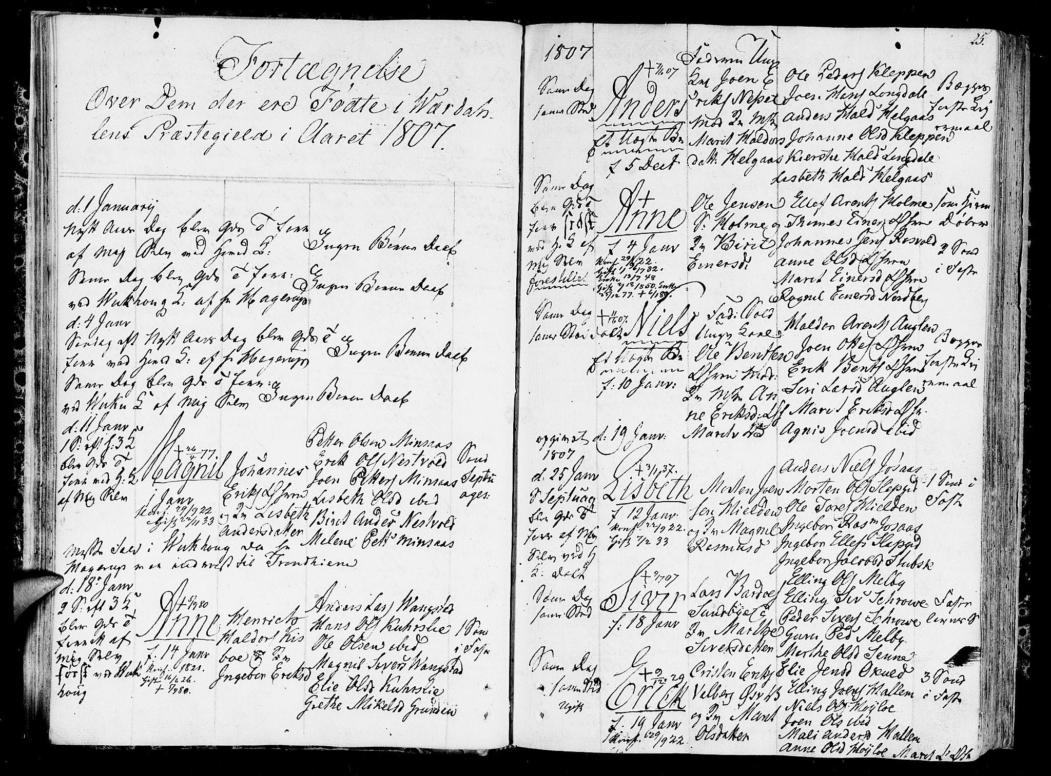 SAT, Ministerialprotokoller, klokkerbøker og fødselsregistre - Nord-Trøndelag, 723/L0233: Ministerialbok nr. 723A04, 1805-1816, s. 25