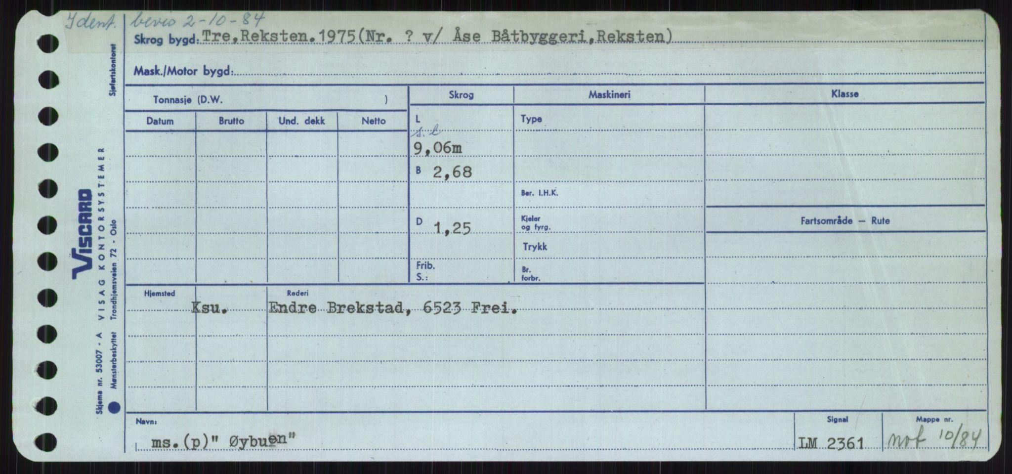 RA, Sjøfartsdirektoratet med forløpere, Skipsmålingen, H/Ha/L0006: Fartøy, Sver-Å, s. 800