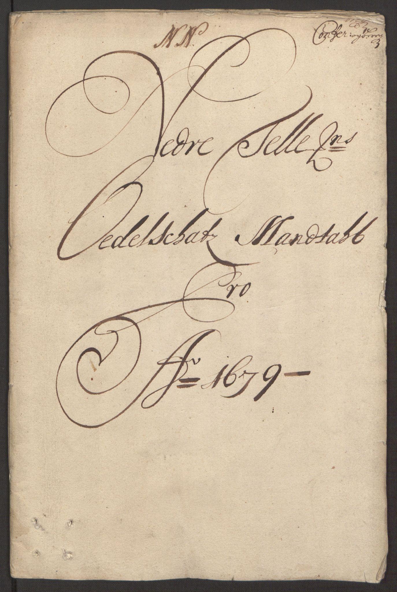 RA, Rentekammeret inntil 1814, Reviderte regnskaper, Fogderegnskap, R35/L2072: Fogderegnskap Øvre og Nedre Telemark, 1679, s. 85