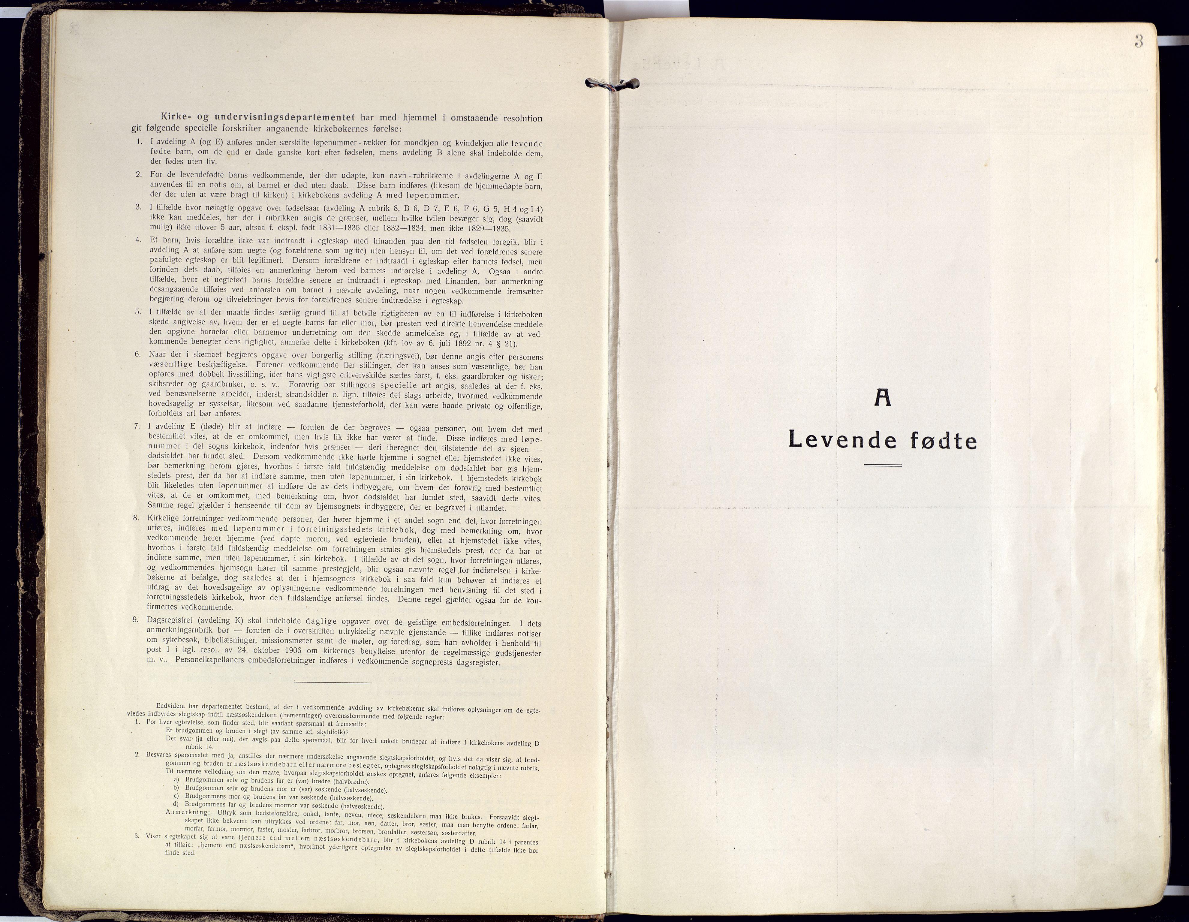 SATØ, Karlsøy sokneprestembete, Ministerialbok nr. 15, 1918-1929, s. 3