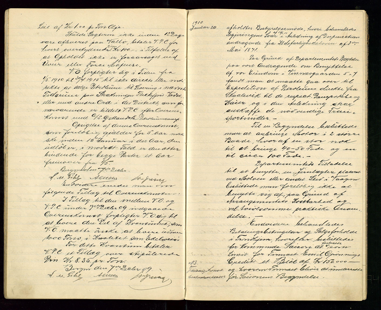 SAST, PA 1533 - A/S Vestlandske Petroleumscompani, A/Aa/L0001: Generalforsamlinger og styreprotokoller, 1907-1915, s. 28