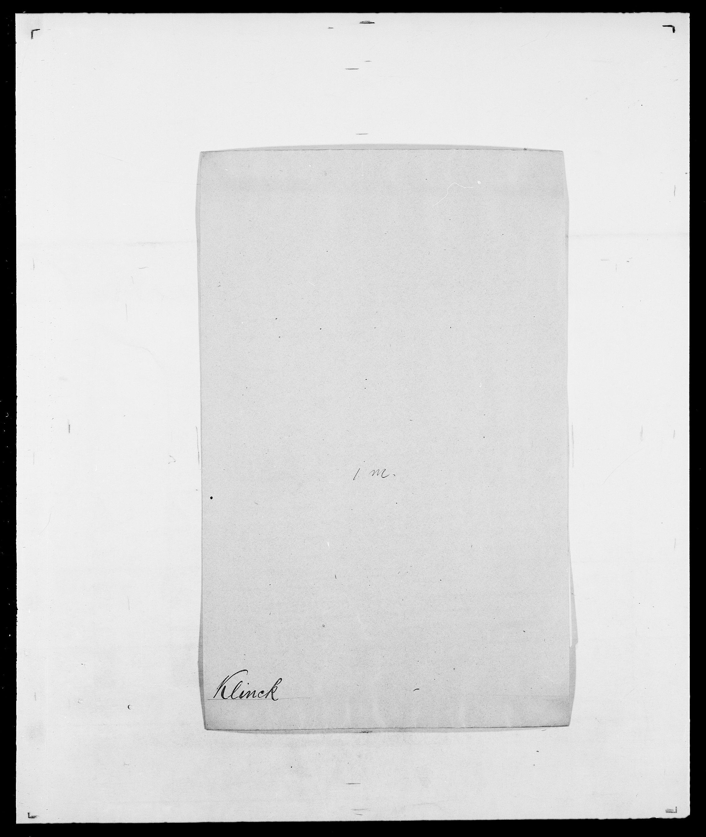 SAO, Delgobe, Charles Antoine - samling, D/Da/L0021: Klagenberg - Kristoft, s. 76