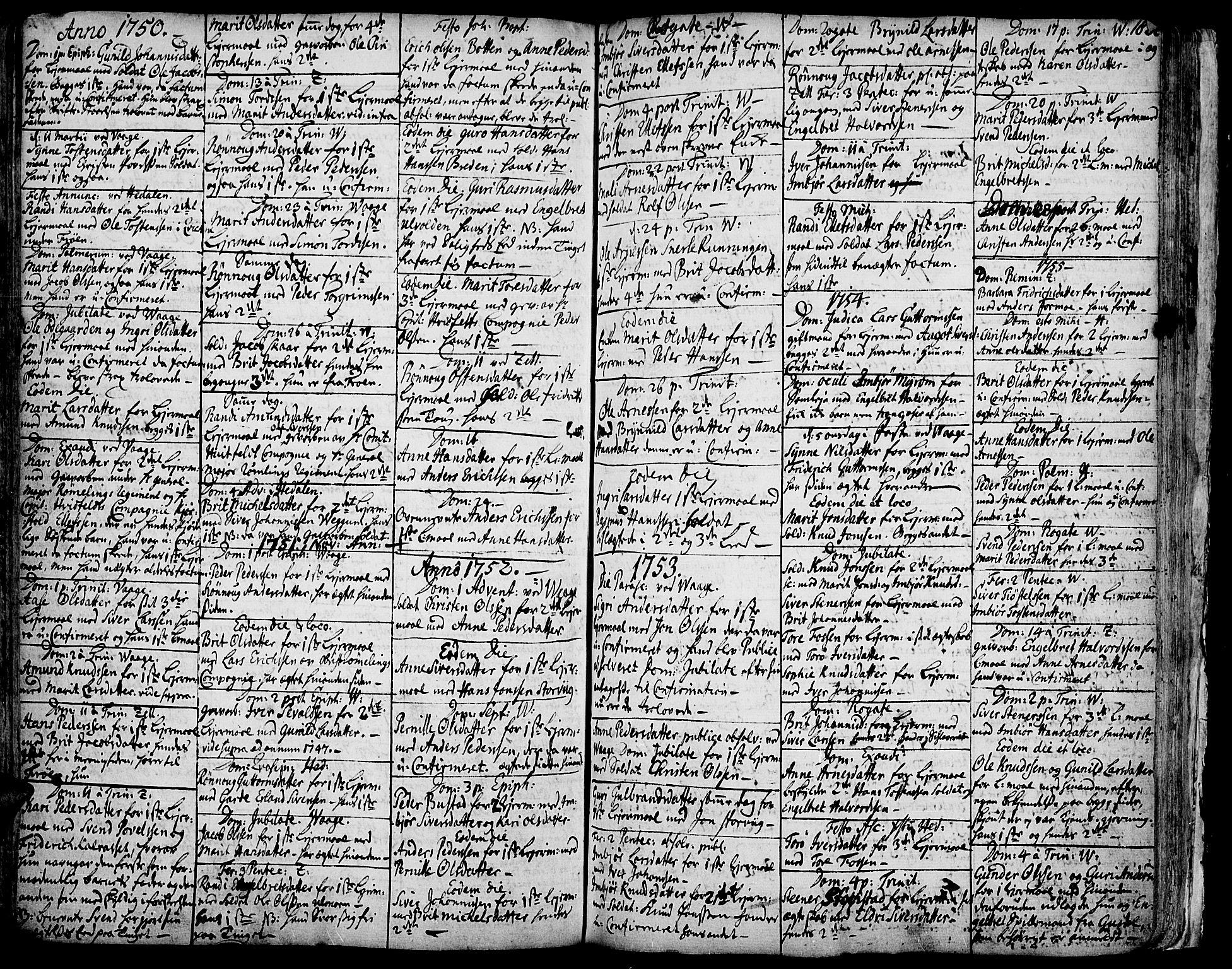 SAH, Vågå prestekontor, Ministerialbok nr. 1, 1739-1810, s. 182