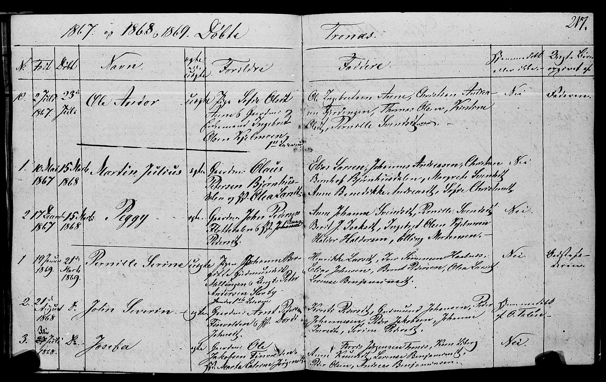 SAT, Ministerialprotokoller, klokkerbøker og fødselsregistre - Nord-Trøndelag, 762/L0538: Ministerialbok nr. 762A02 /2, 1833-1879, s. 217
