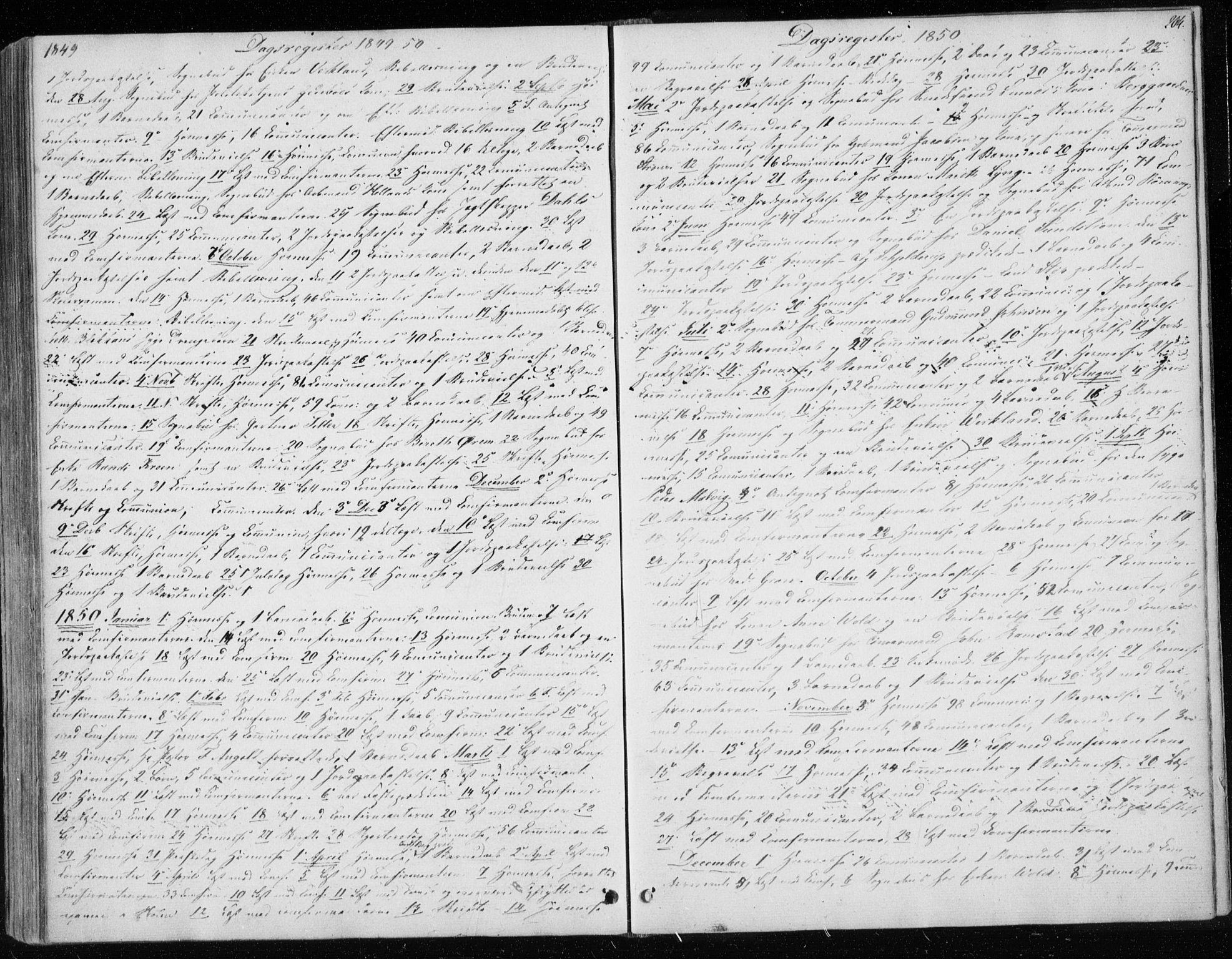 SAT, Ministerialprotokoller, klokkerbøker og fødselsregistre - Sør-Trøndelag, 604/L0183: Ministerialbok nr. 604A04, 1841-1850, s. 204