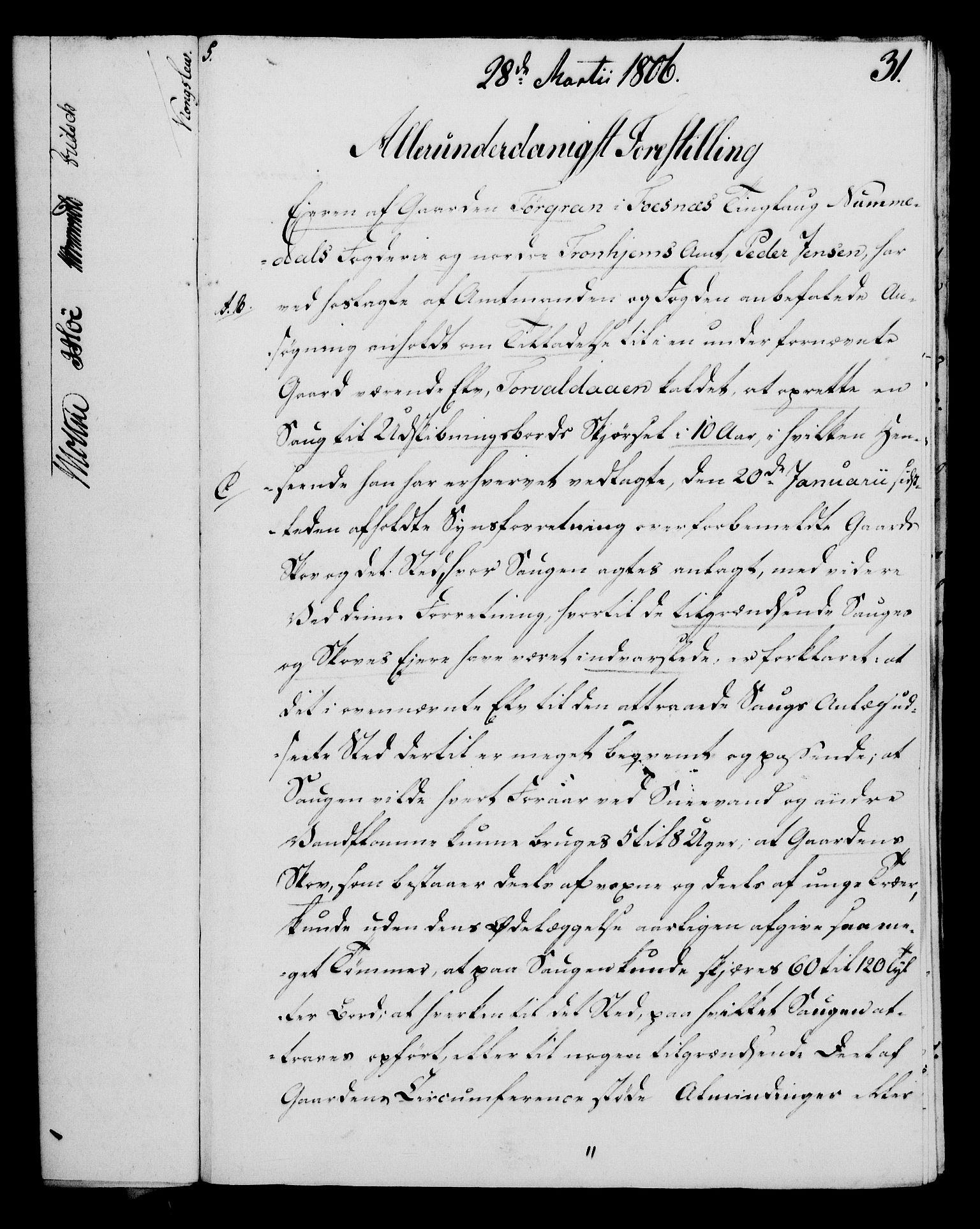 RA, Rentekammeret, Kammerkanselliet, G/Gf/Gfa/L0088: Norsk relasjons- og resolusjonsprotokoll (merket RK 52.88), 1806, s. 209