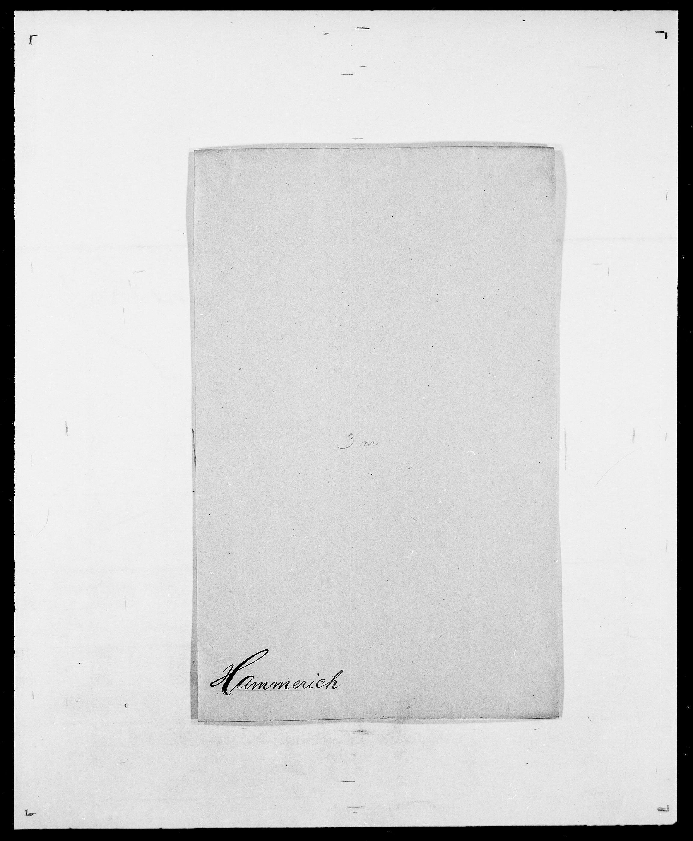 SAO, Delgobe, Charles Antoine - samling, D/Da/L0016: Hamborg - Hektoen, s. 65