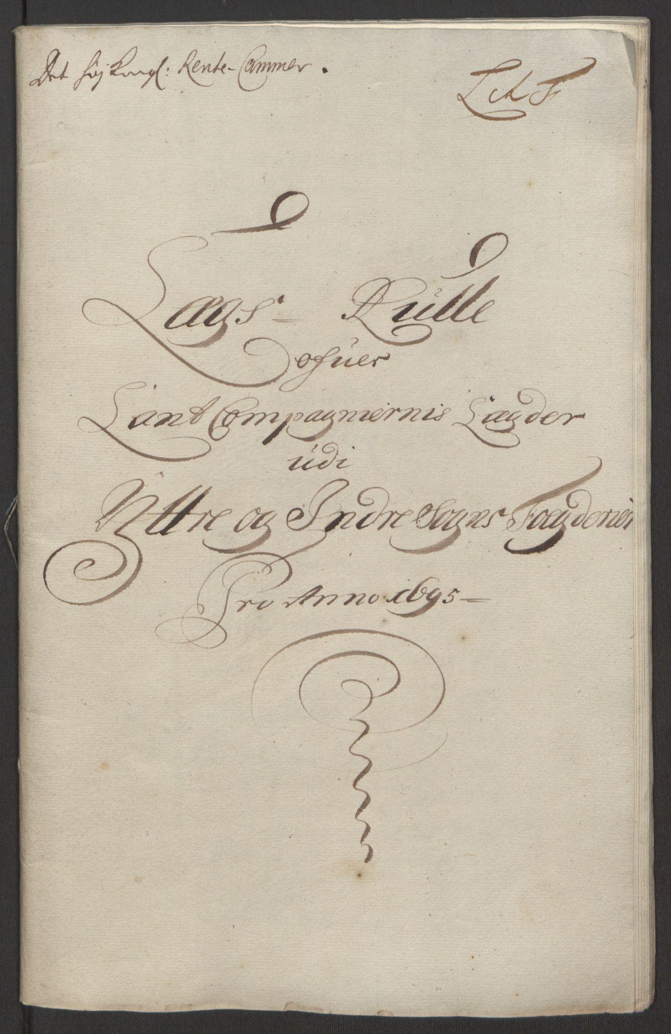 RA, Rentekammeret inntil 1814, Reviderte regnskaper, Fogderegnskap, R52/L3308: Fogderegnskap Sogn, 1695, s. 266