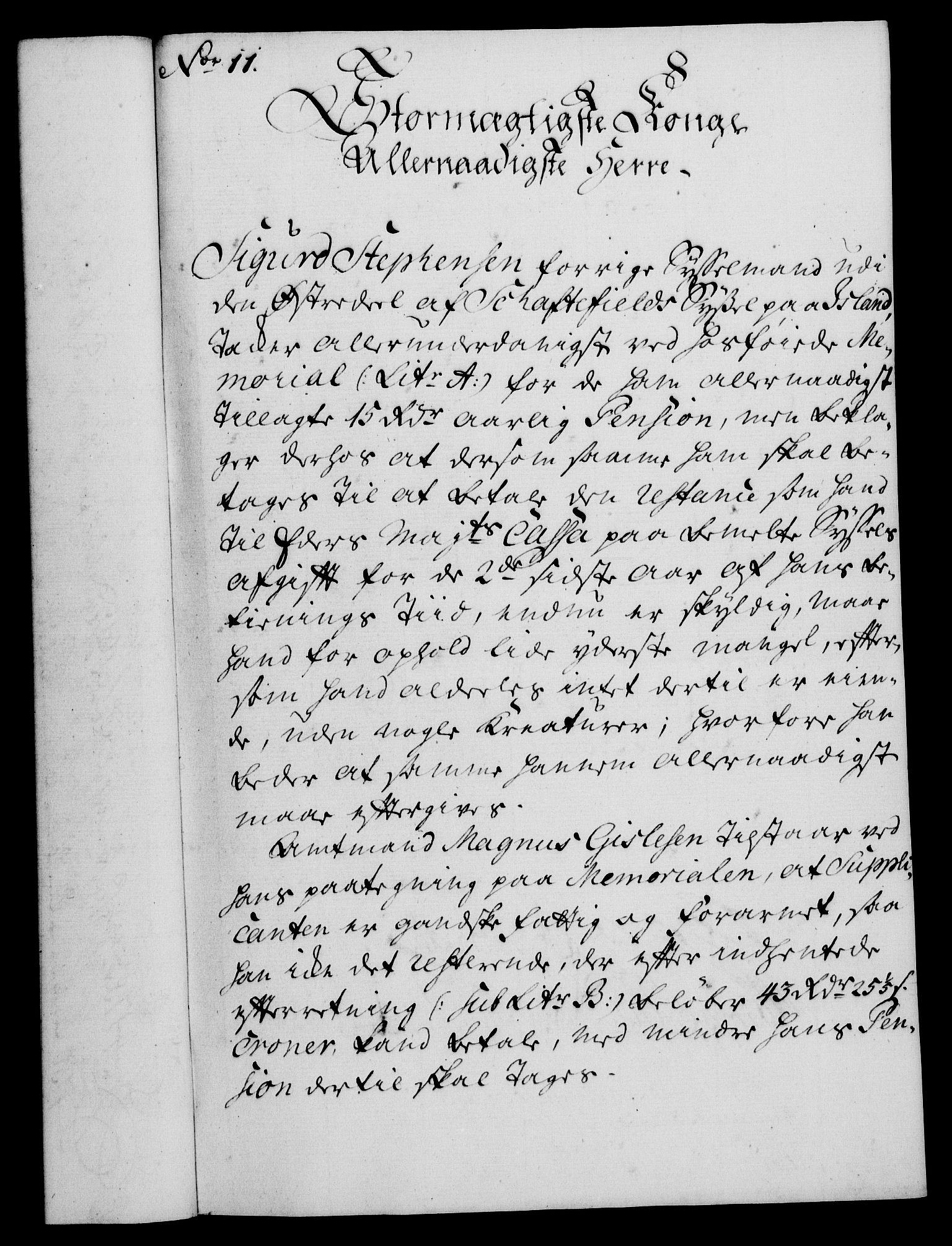 RA, Rentekammeret, Kammerkanselliet, G/Gf/Gfa/L0043: Norsk relasjons- og resolusjonsprotokoll (merket RK 52.43), 1761, s. 59